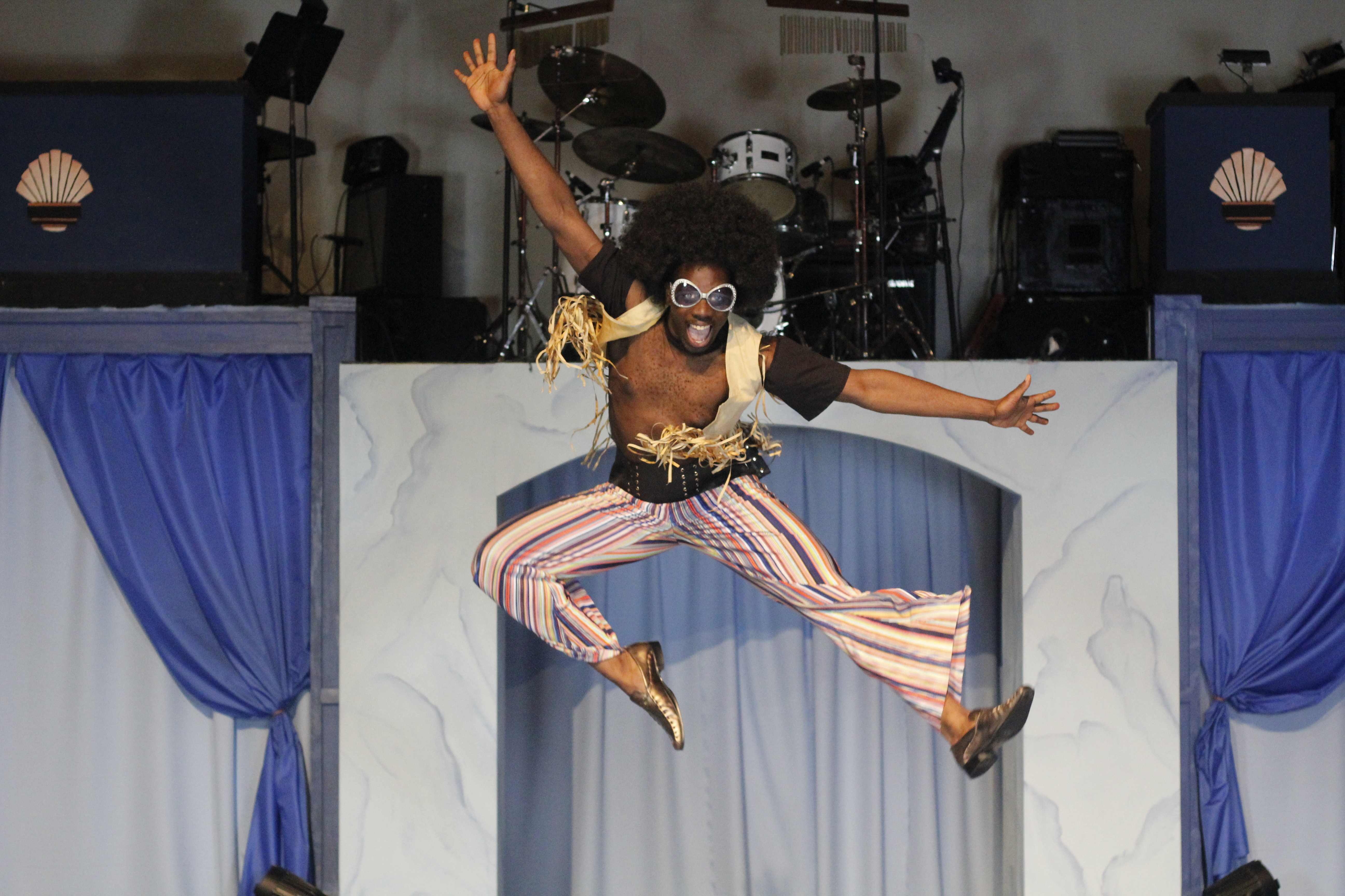 """Stuart Romeo is among the ensemble cast of """"You Can't Fake the Funk (A Journey Through Funk Music)"""" at Black Ensemble Theater."""