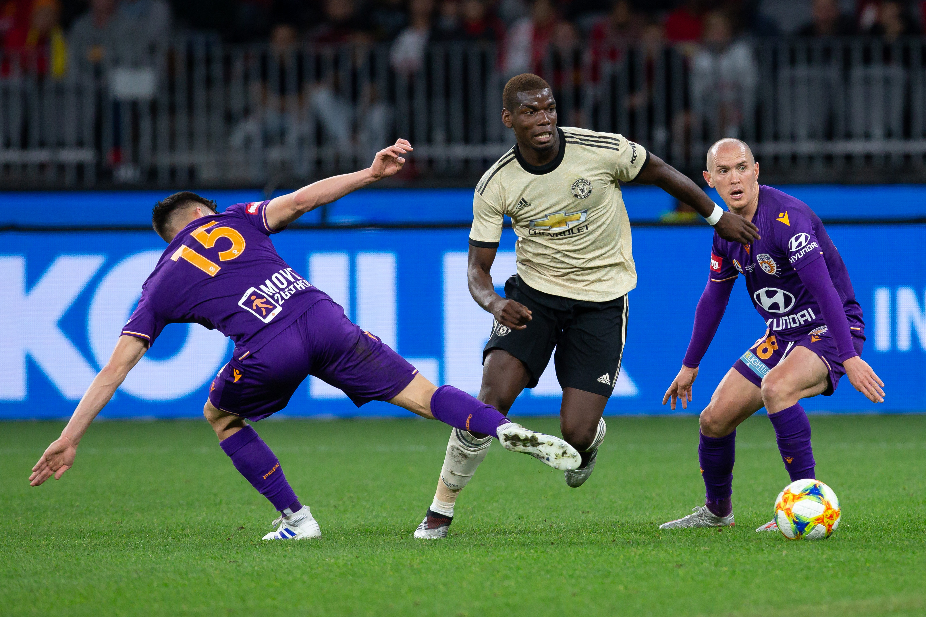SOCCER: JUL 13 International - Manchester United at Perth Glory