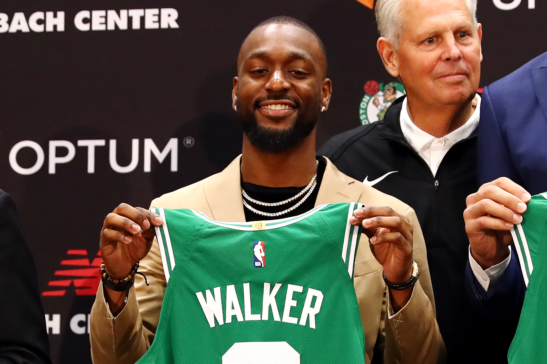 Boston Celtics Introduce Kemba Walker