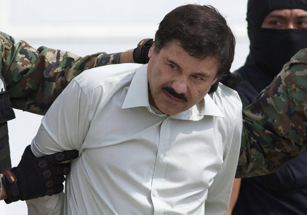 """Mexican drug kingpin Joaquín """"El Chapo"""" Guzmán Loera."""
