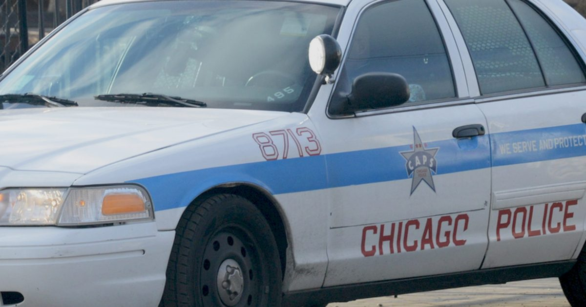 A person barricaded themselves inside a building in Boystown.