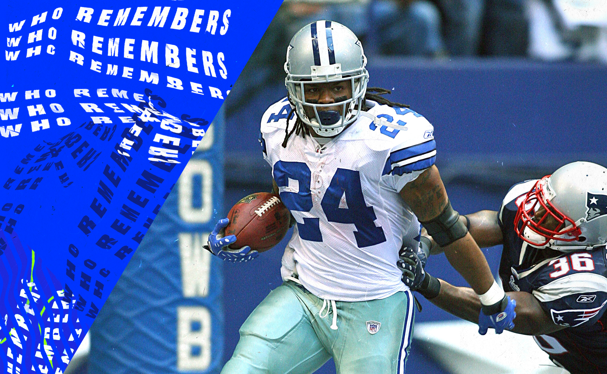 Marion Barber's best run in his NFL career gained just 2 yards