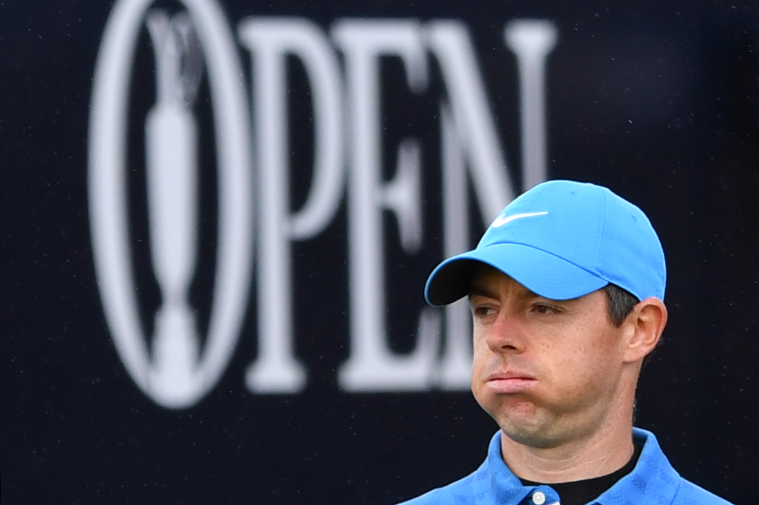 Rory McIlroy's start to The Open was an inconceivable nightmare