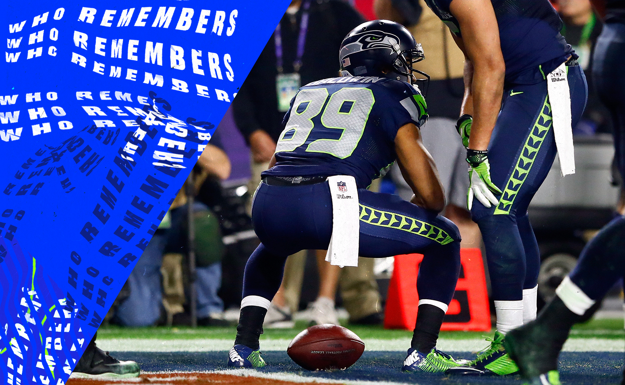 Well shit, hope you didn't forget about Doug Baldwin's Super Bowl celebration