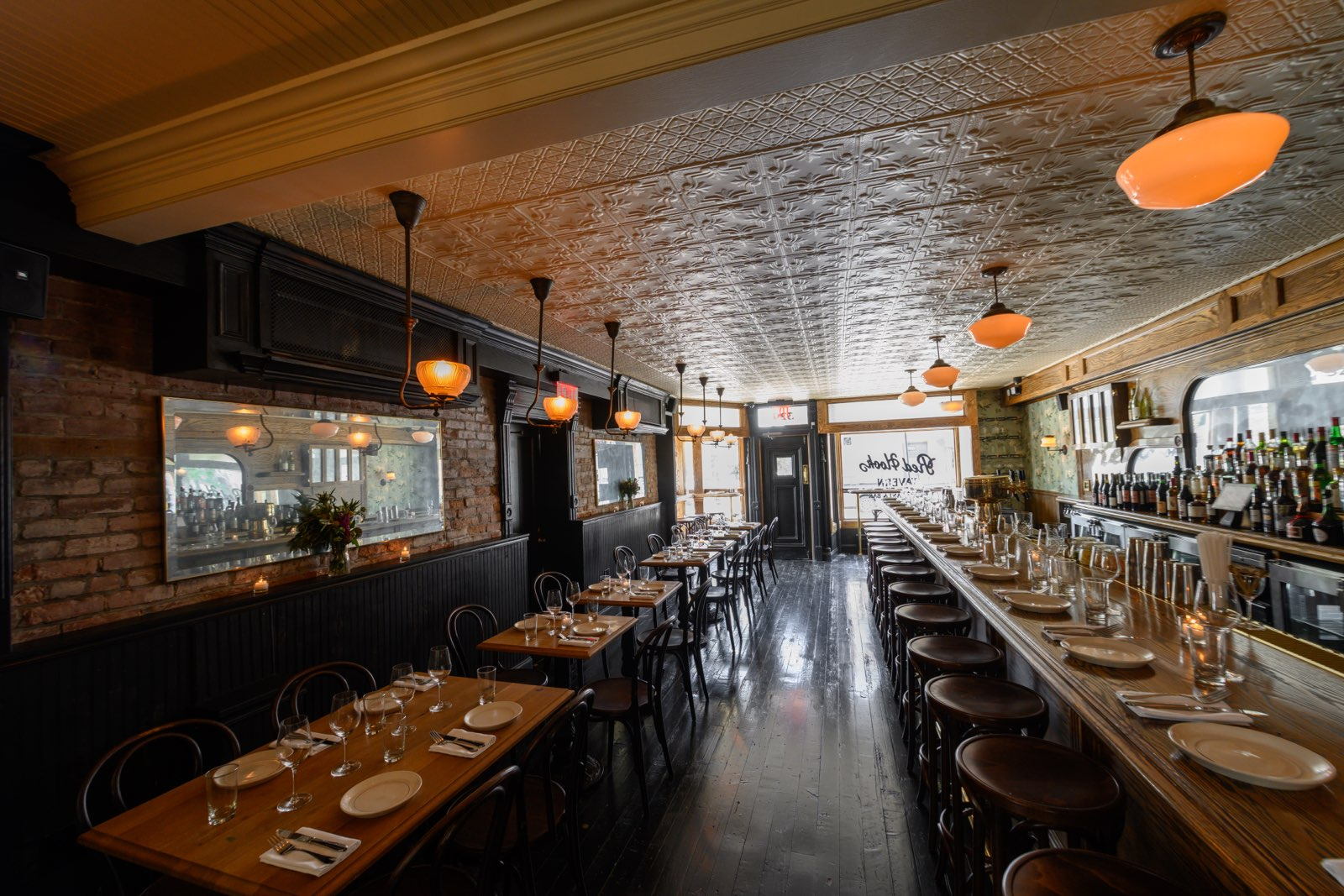 Red Hook Tavern's dining room and bar
