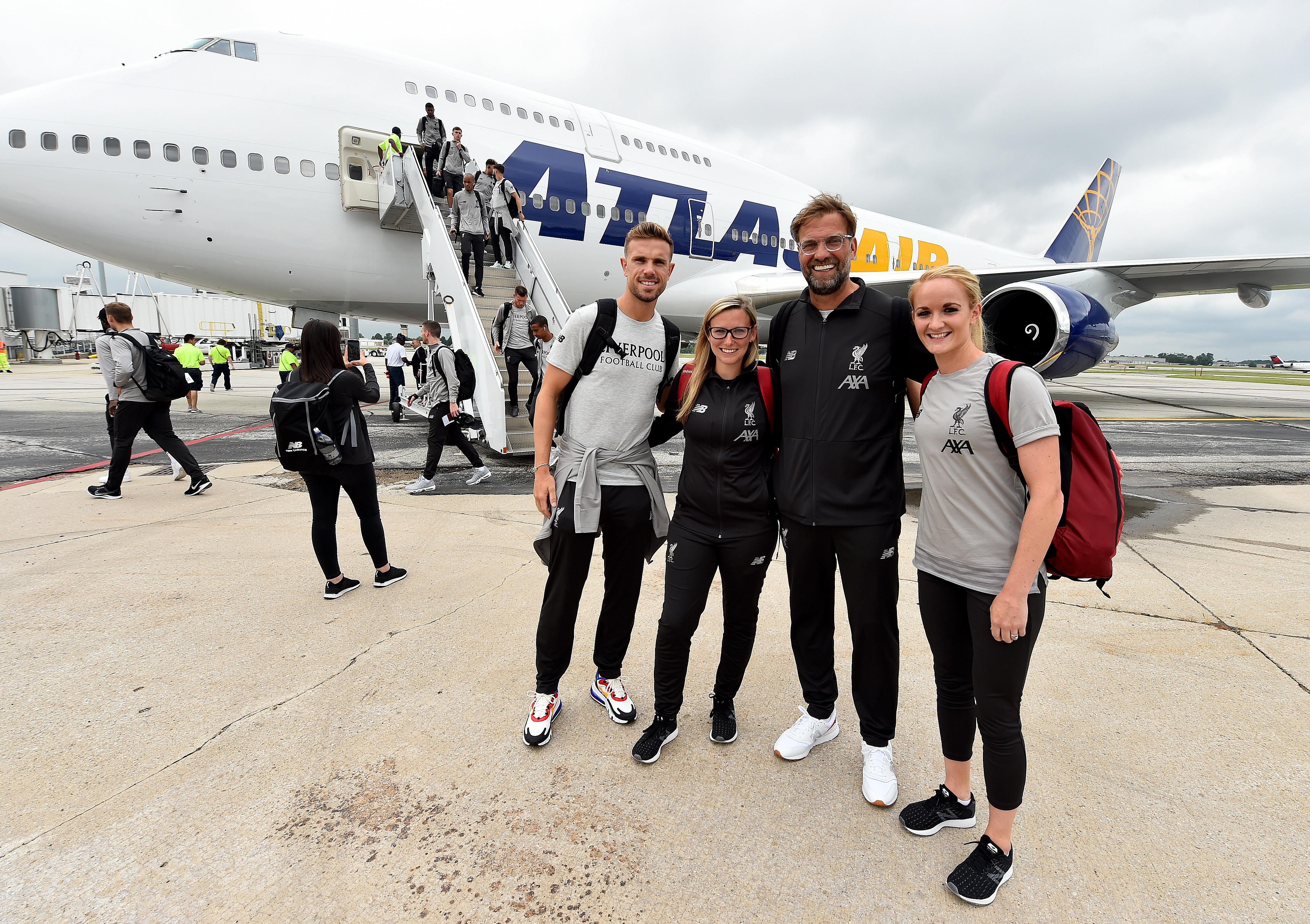 Liverpool Managers and Captains Arrive in South bend for Their Pre-Season US Tour