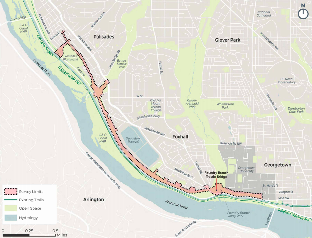 Design ideas for three-mile Palisades Trolley Trail to be discussed at July 23 meeting