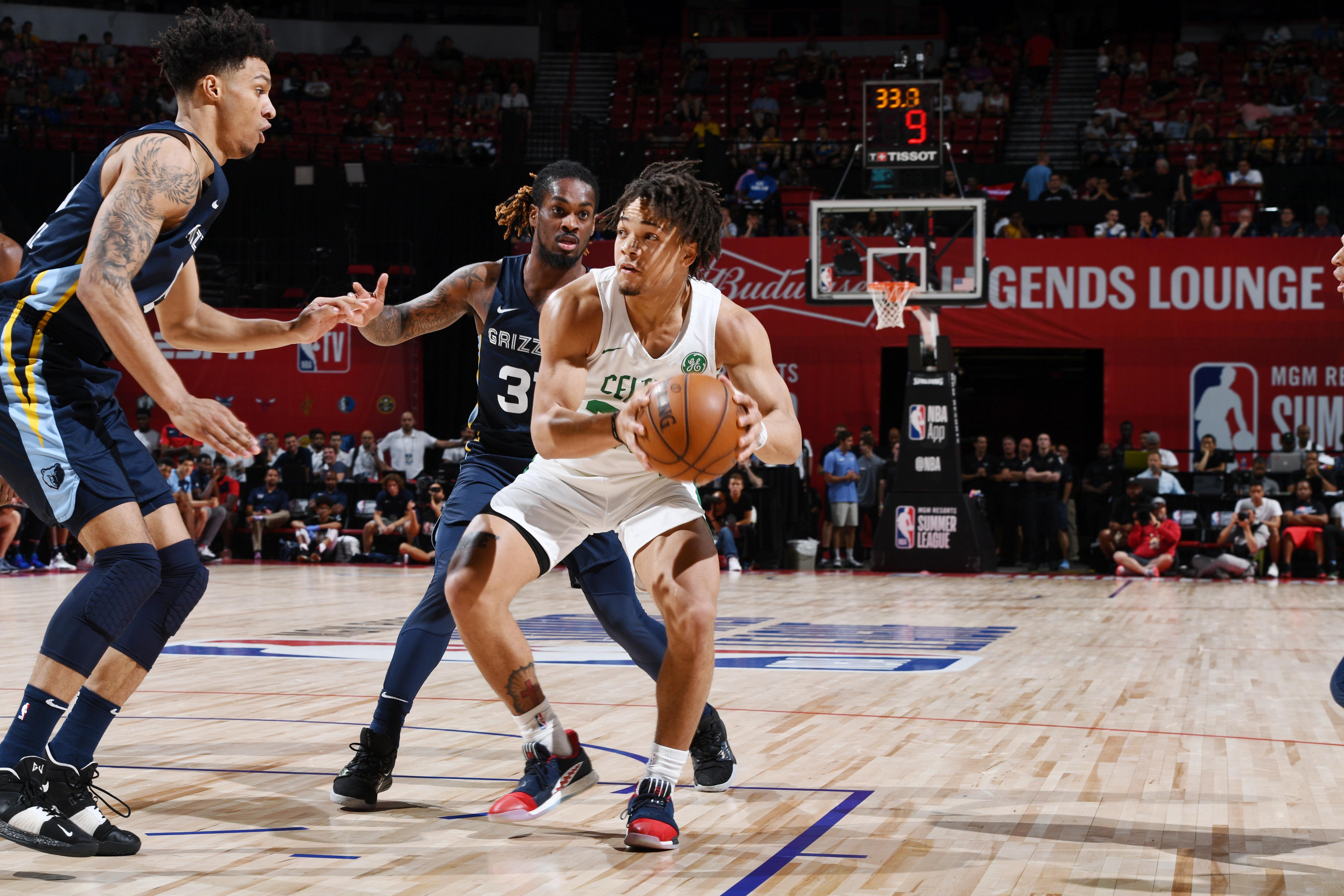 2019 Las Vegas Summer League - Memphis Grizzlies v Boston Celtics