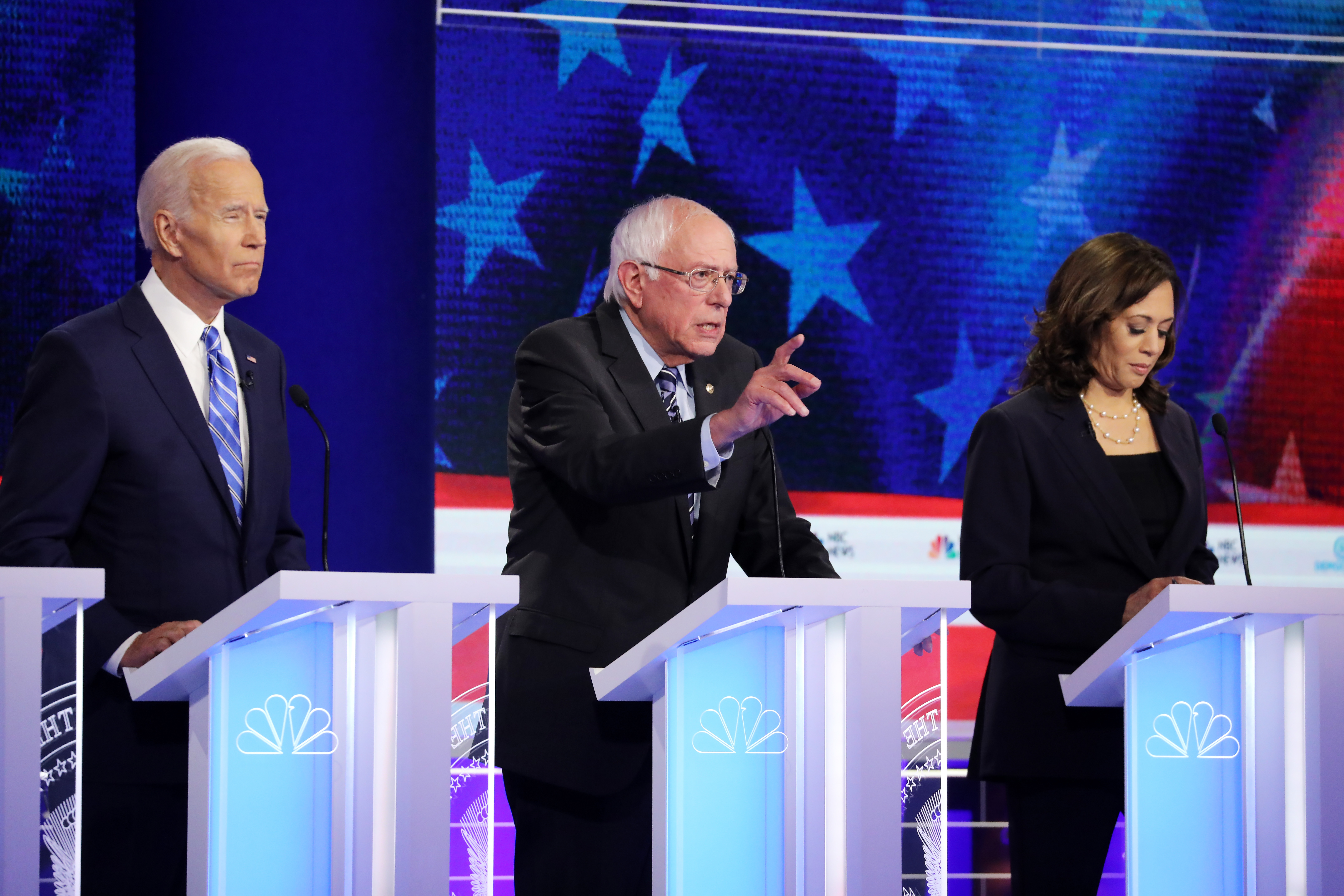CNN announces the nightly matchups for the second Democratic debate