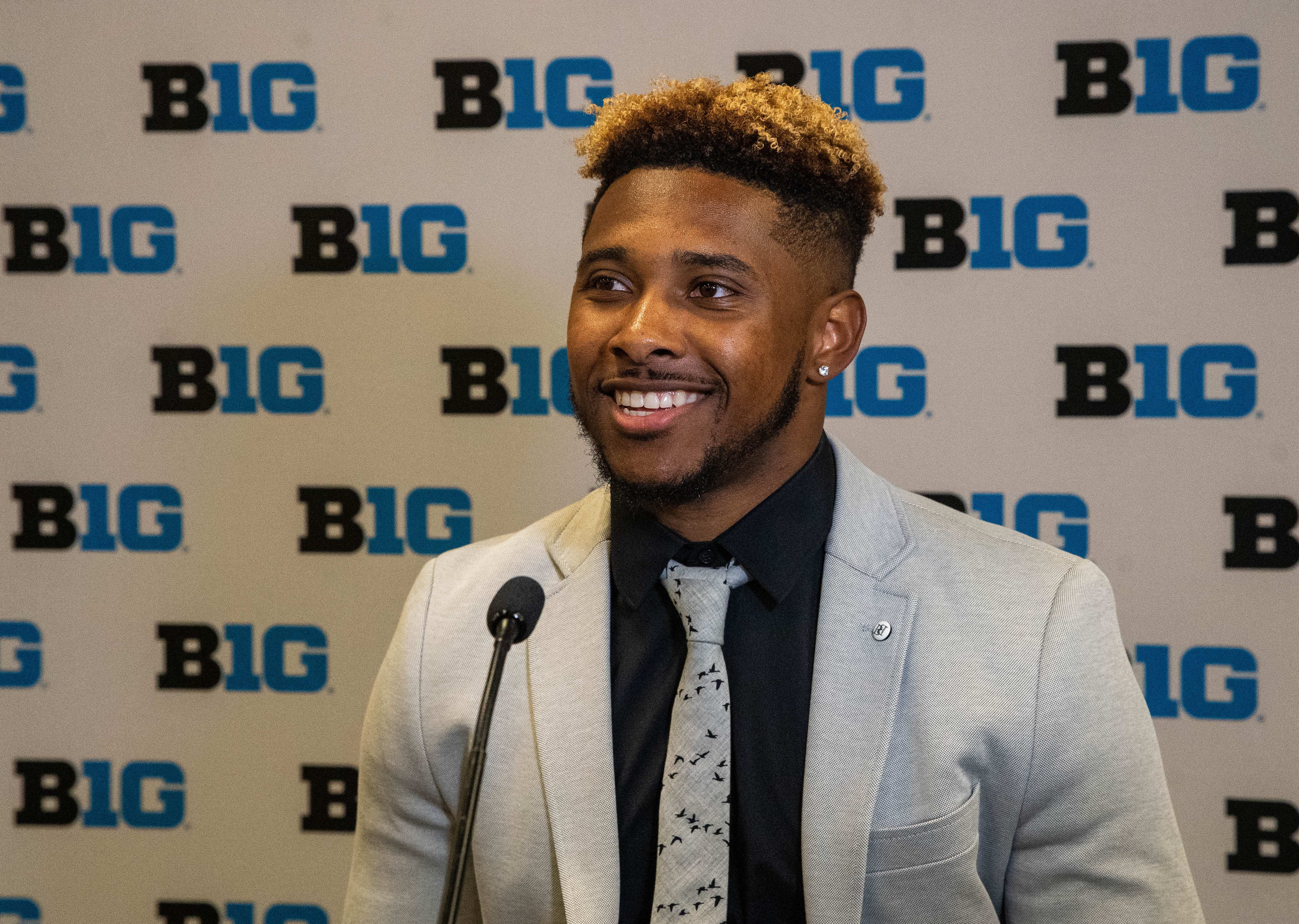 Senior running back for the Illini, Reggie Corbin spoke about his breakout junior season and expectations for his senior campaign at Big Ten Media Days at the Hilton Chicago.
