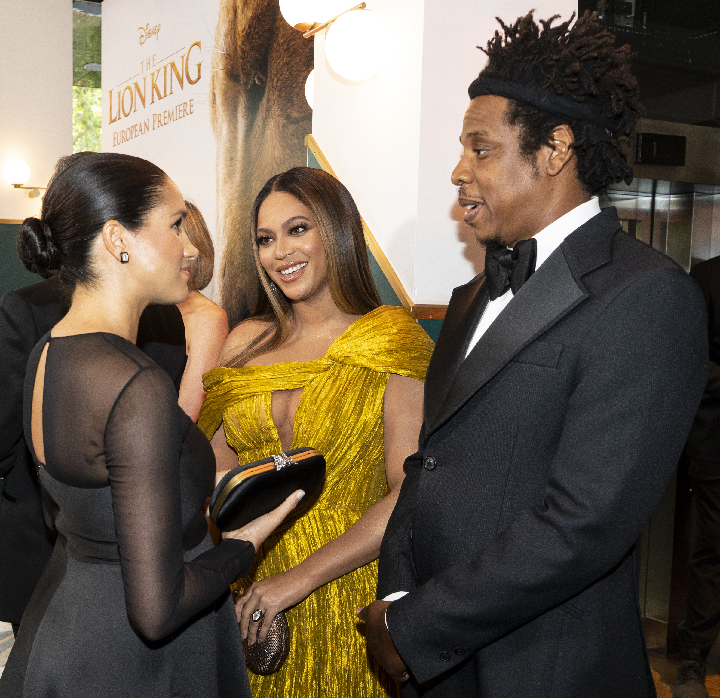 Beyonce and Jay Z checked out London's restaurant scene after the Lion King premiere — here they are with Meghan Markle, Duchess of Sussex