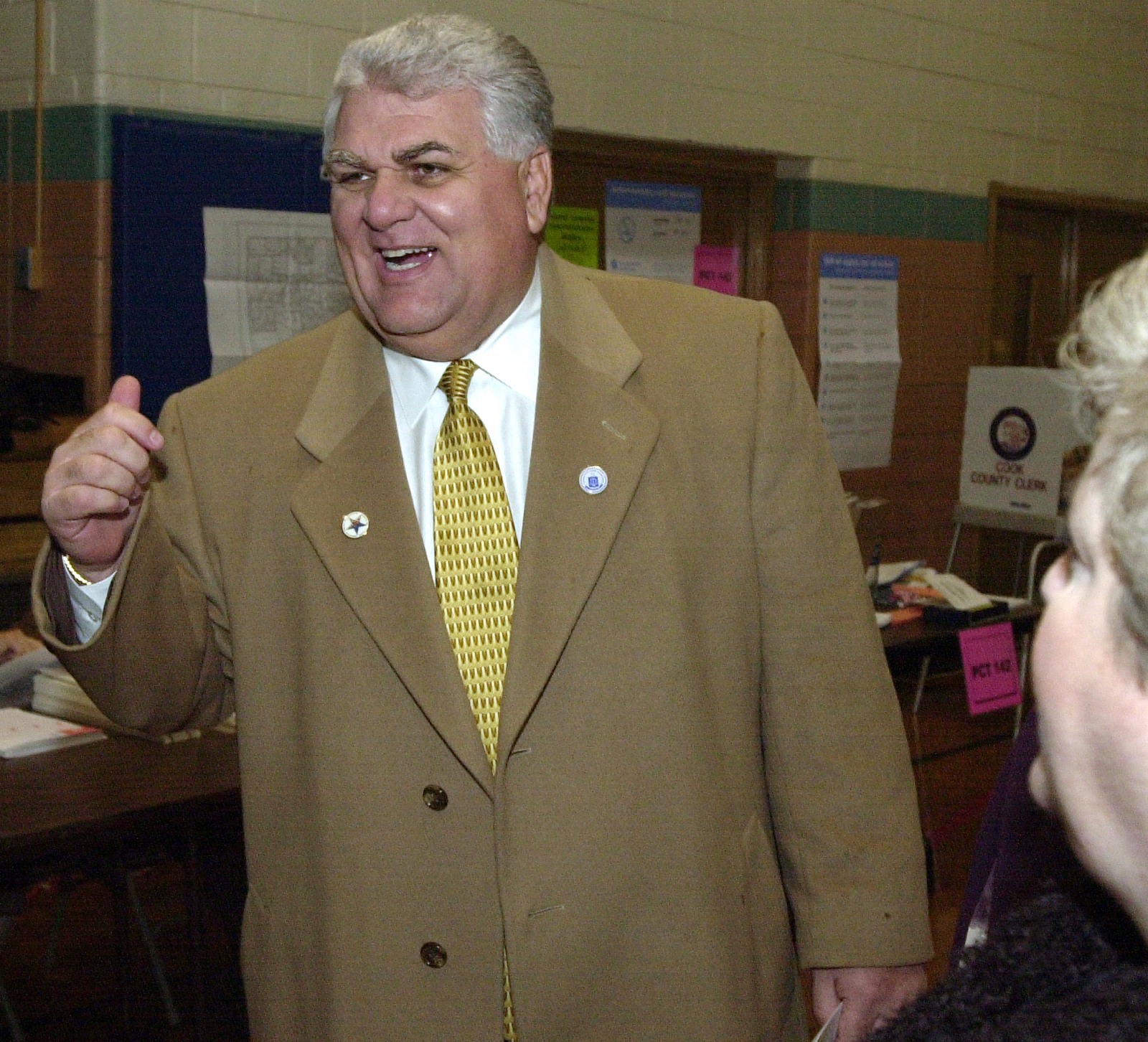 A spokesman for Melrose Park Mayor Ron Serpico says there was no quid pro quo.