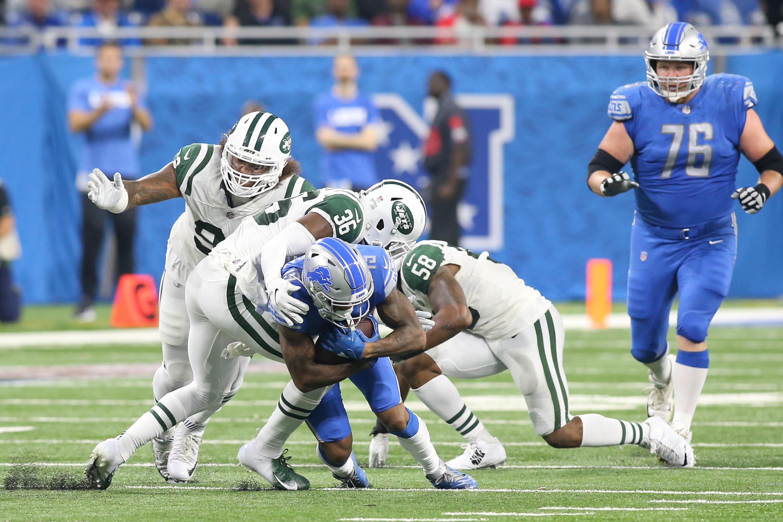 NFL: SEP 10 Jets at Lions