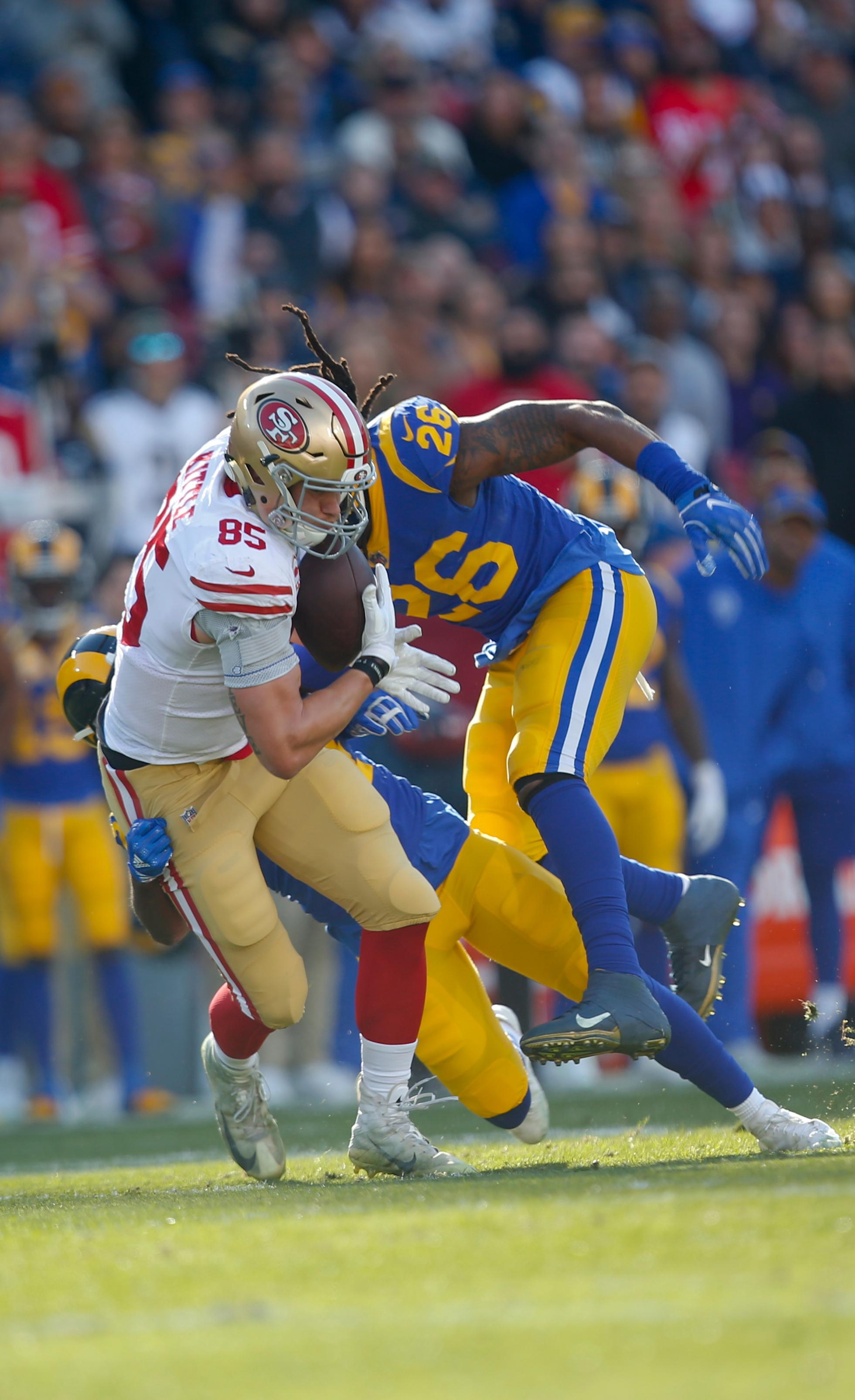 San Francisco 49ers v Los Angeles Rams