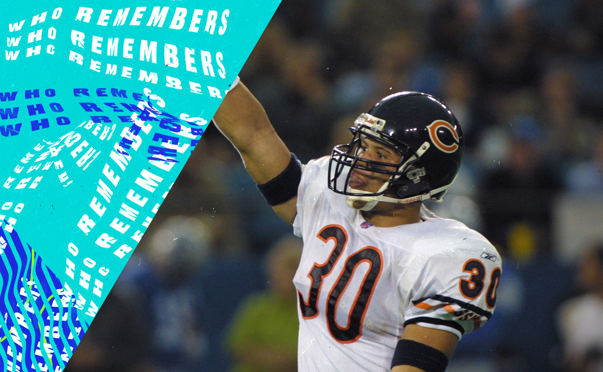Mike Brown cemented himself in NFL history when he won back-to-back OT games for the Bears
