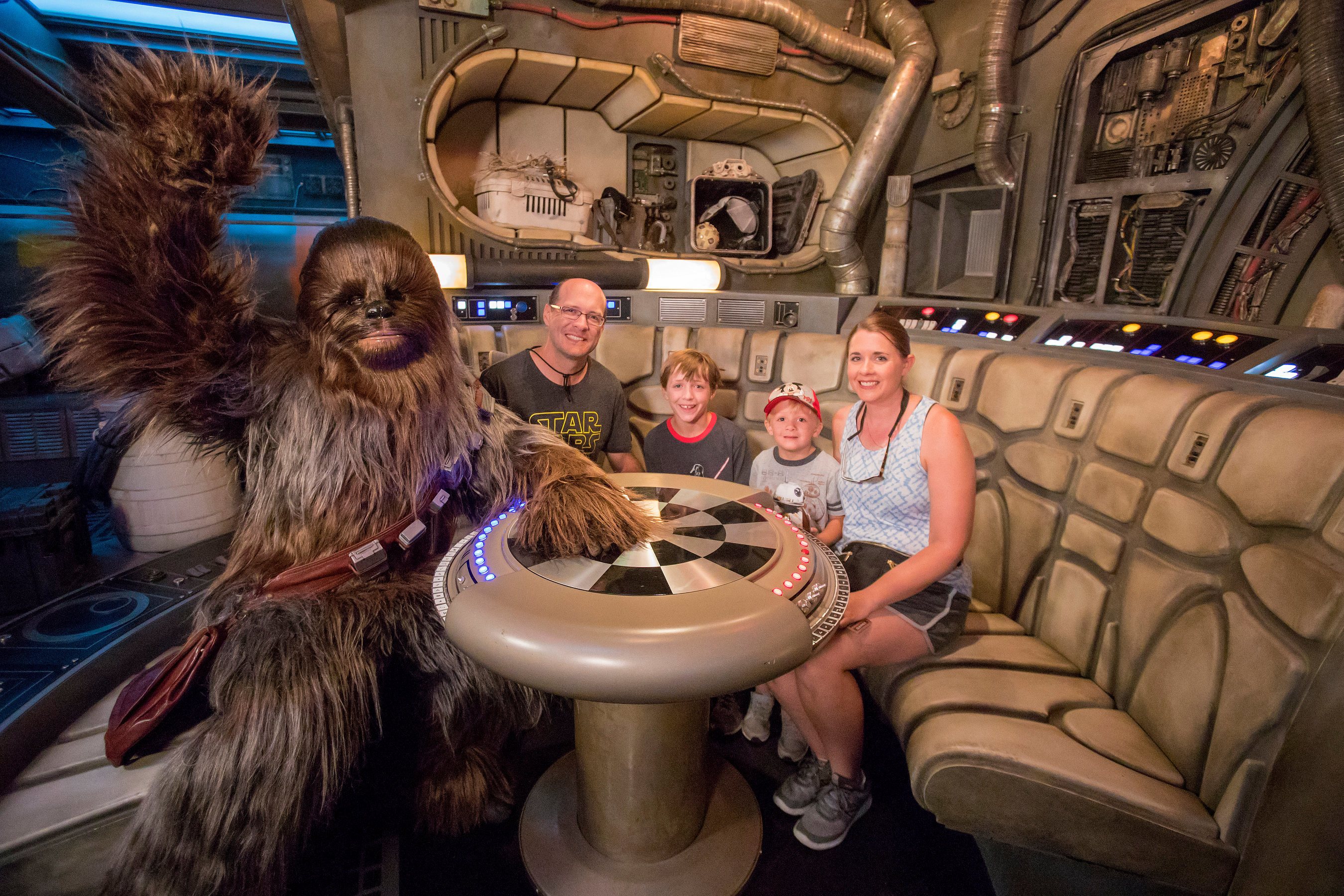Disney's Millenium Falcon attraction just had its millionth rider