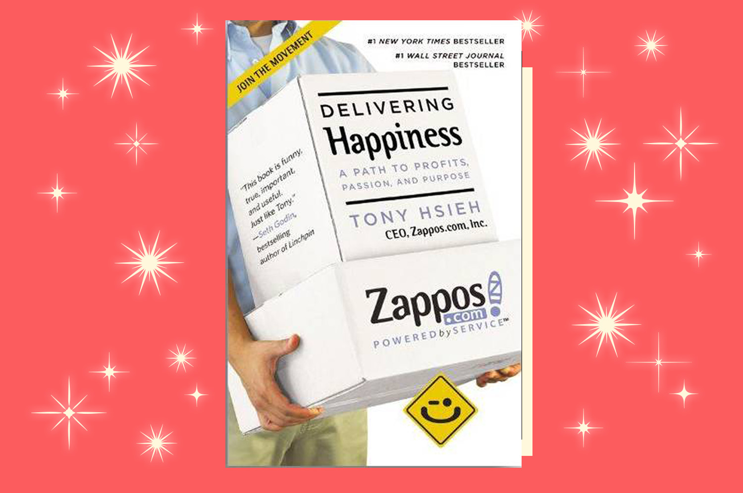 """Book cover of """"Delivering Happiness"""" by Tony Hsieh"""