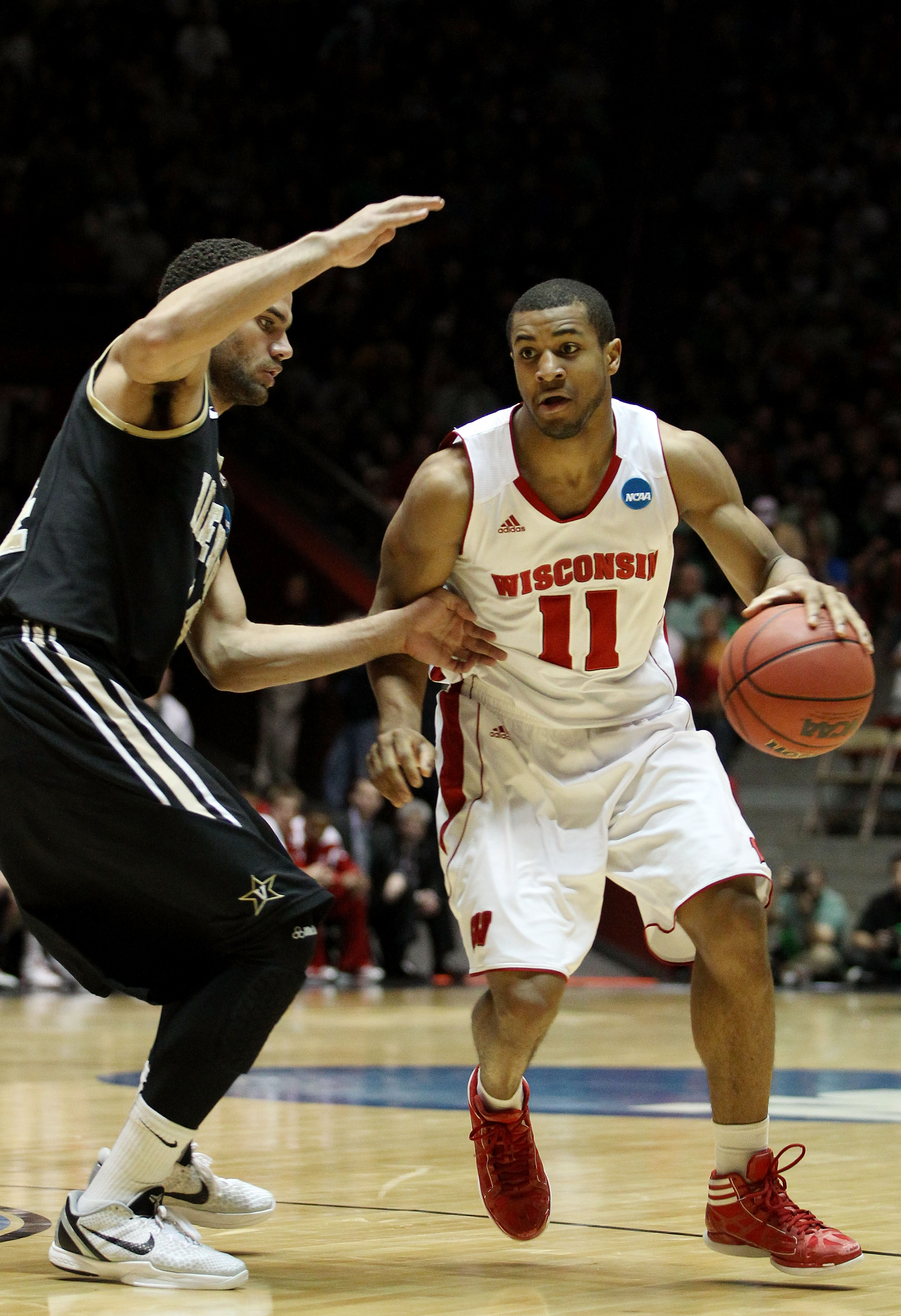 NCAA Basketball Tournament - Vanderbilt v Wisconsin