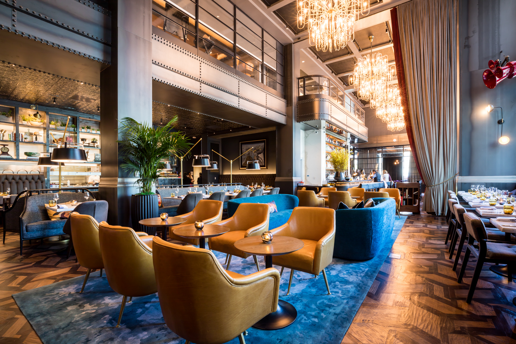 A Ritzy New Restaurant and Rooftop Bar Will Soon Debut at Dallas's Forthcoming Virgin Hotel