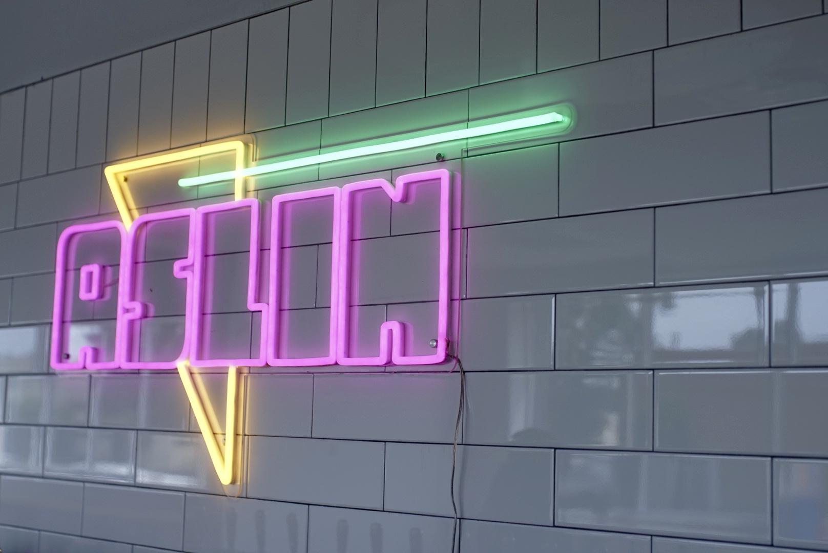 Artwork at Alexandria's New Aslin Brewery Looks Like 'Lisa Frank on Acid'