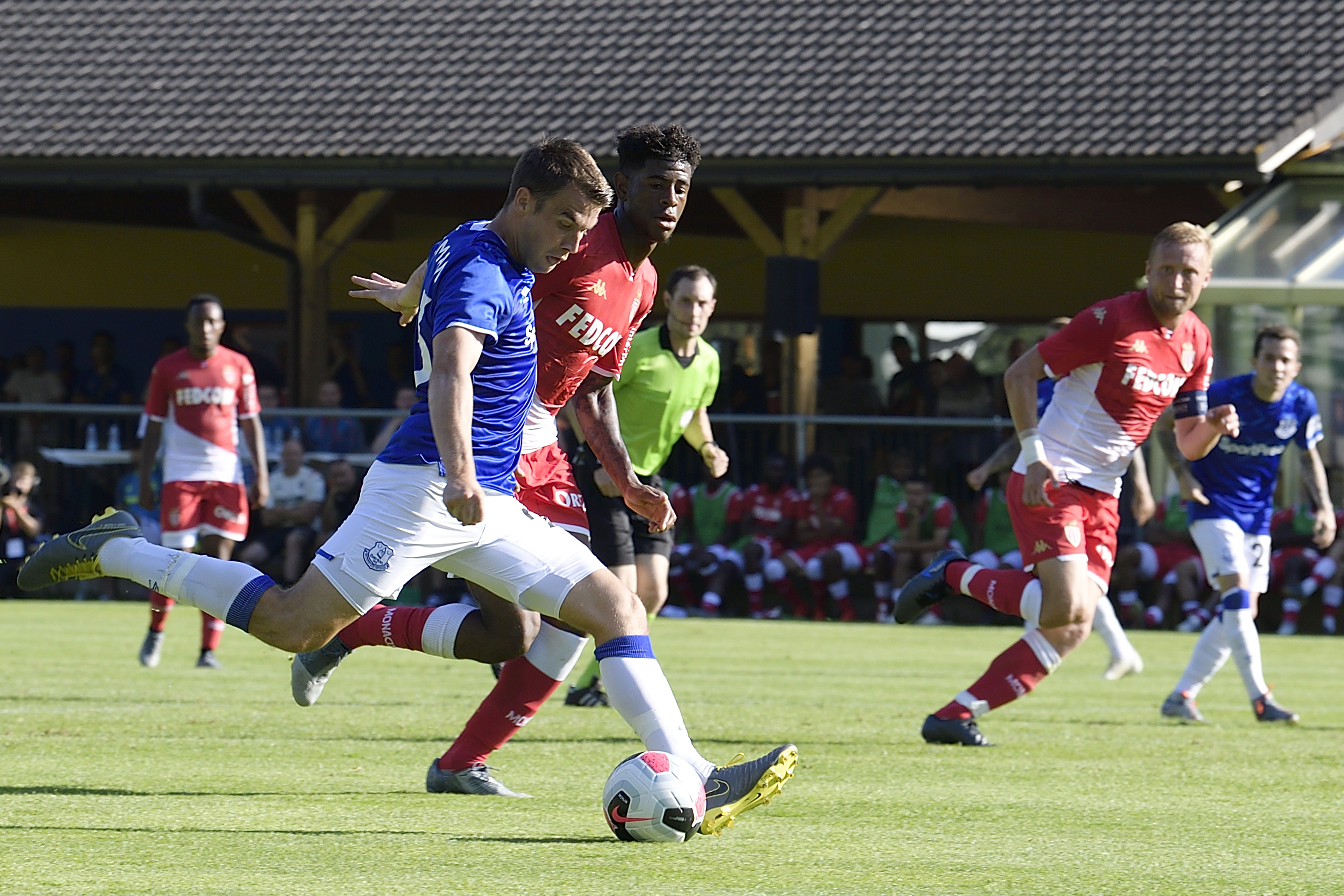 Monaco v Everton Pre-Season Friendly