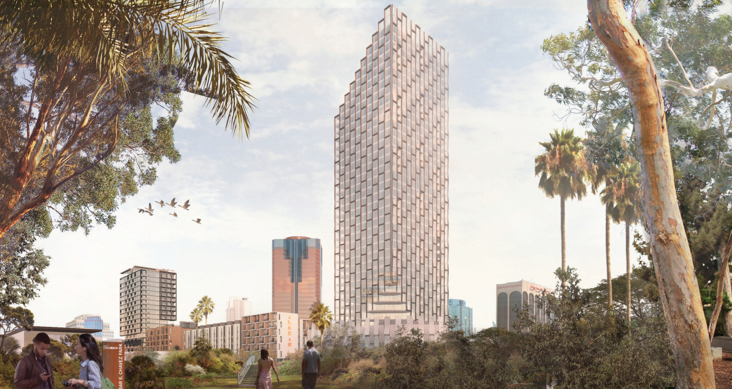 Plans for Long Beach's tallest building get OK from city commission