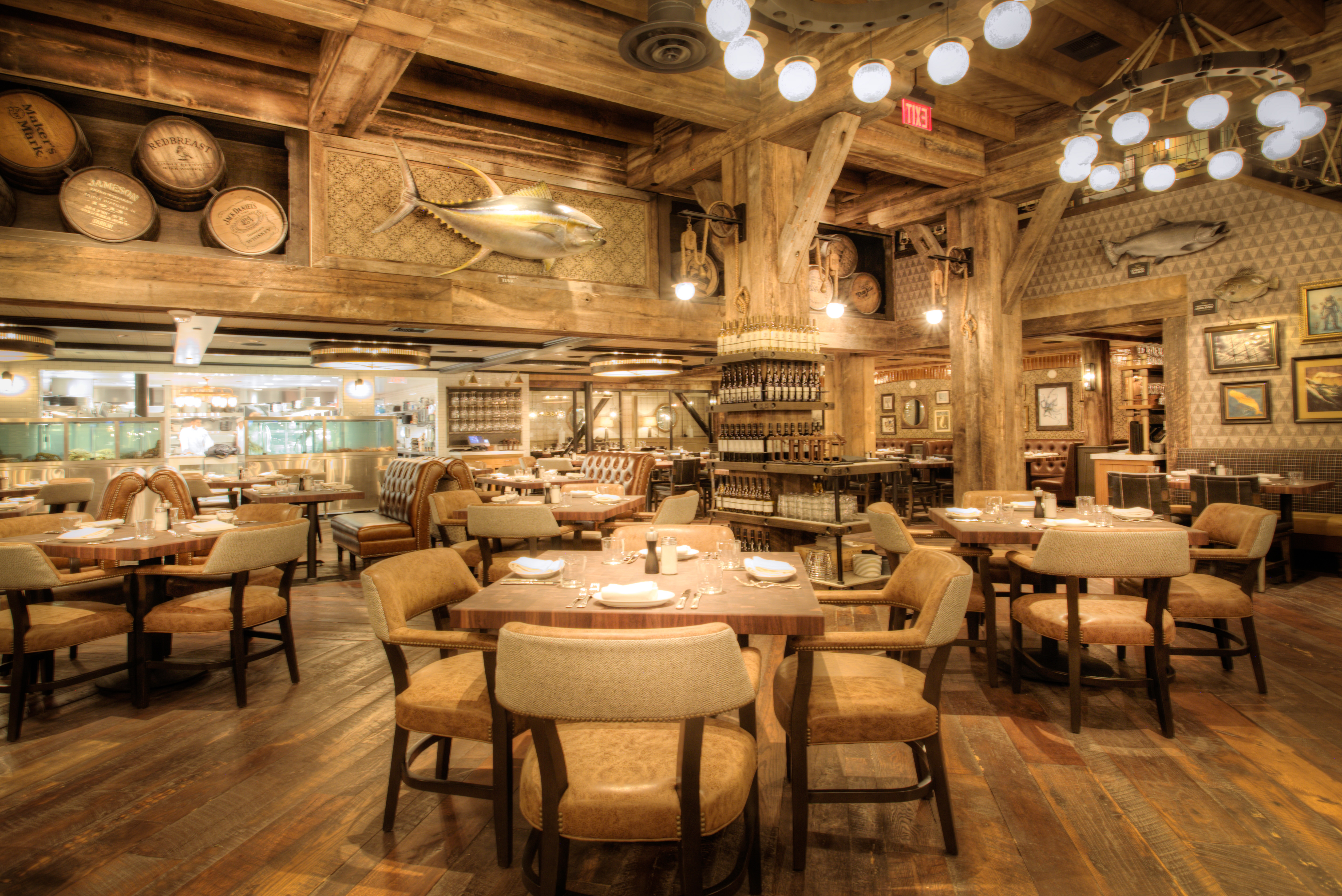Bastion of Seafood Water Grill Debuts on the Strip