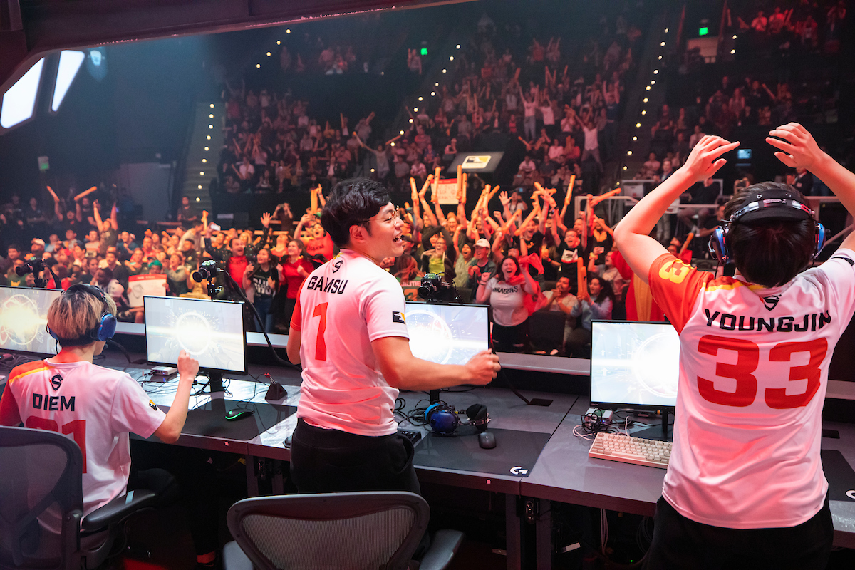 Overwatch League - The Shanghai Dragons win Stage 3