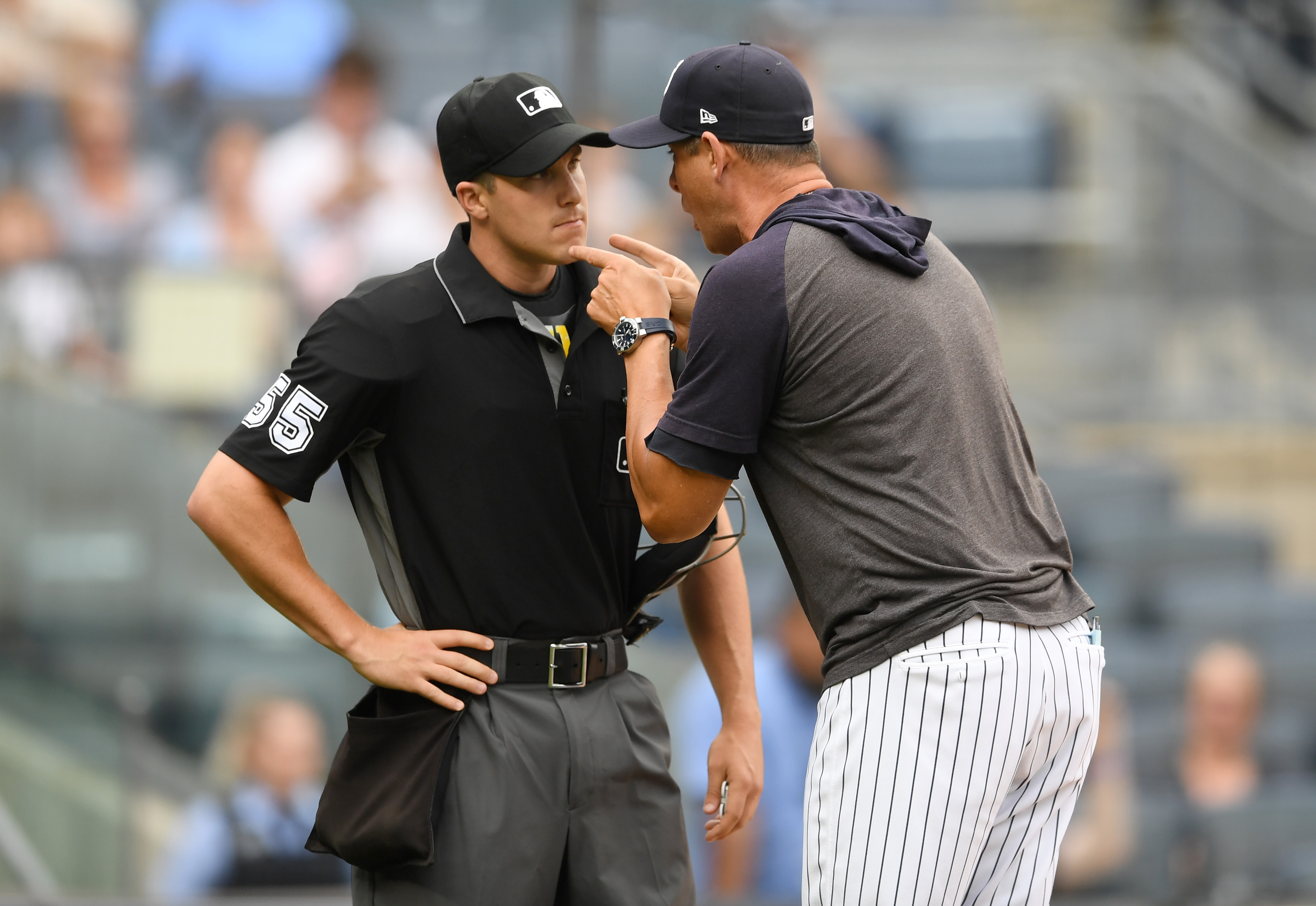 Aaron Boone got suspended 1 game for his awesome tirade, and it was worth it