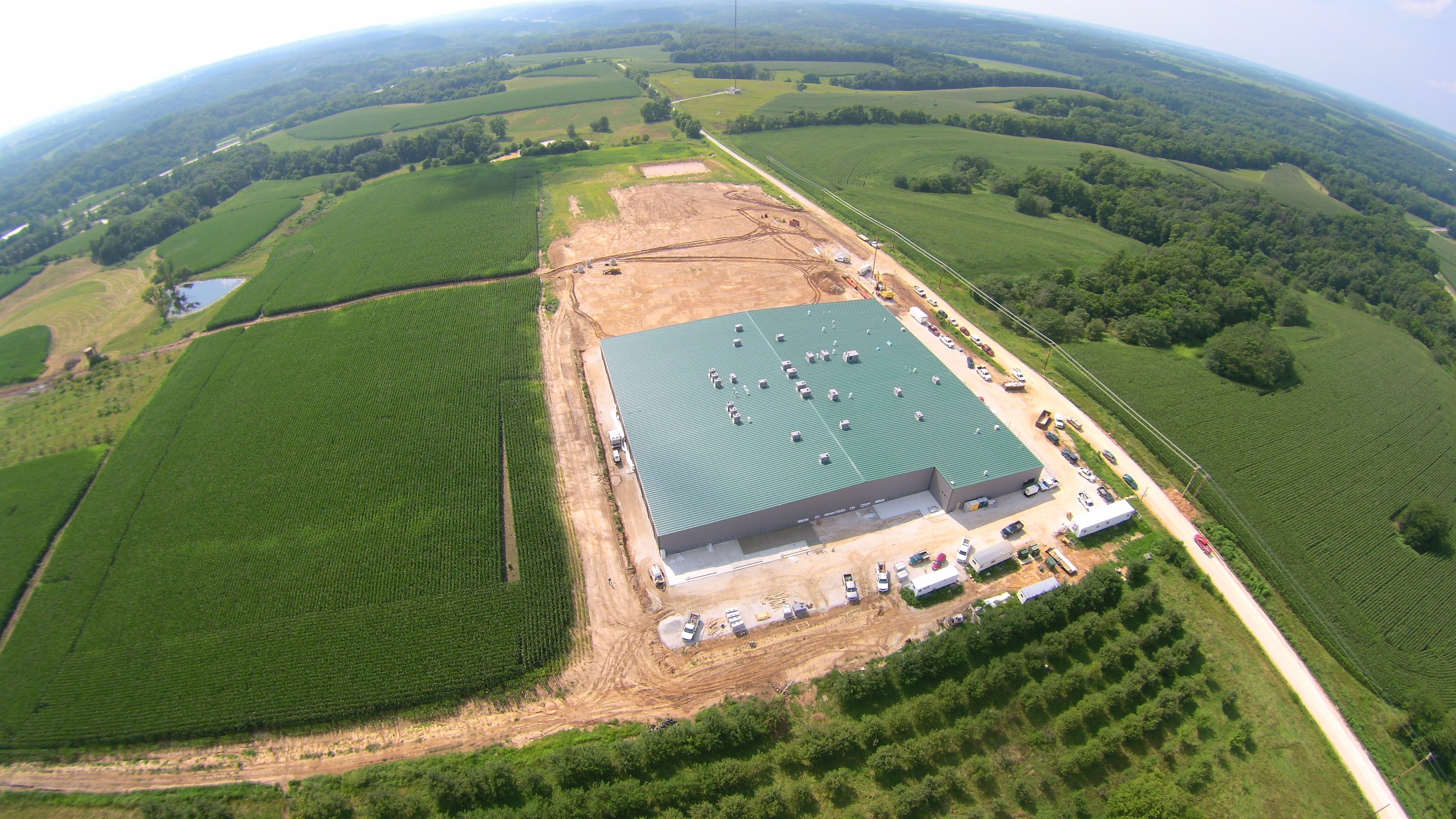 Innovative Industrial Properties bought this 75,000-square-feet grow facility in downstate Barry in December and leases it to a marijuana cultivation company.