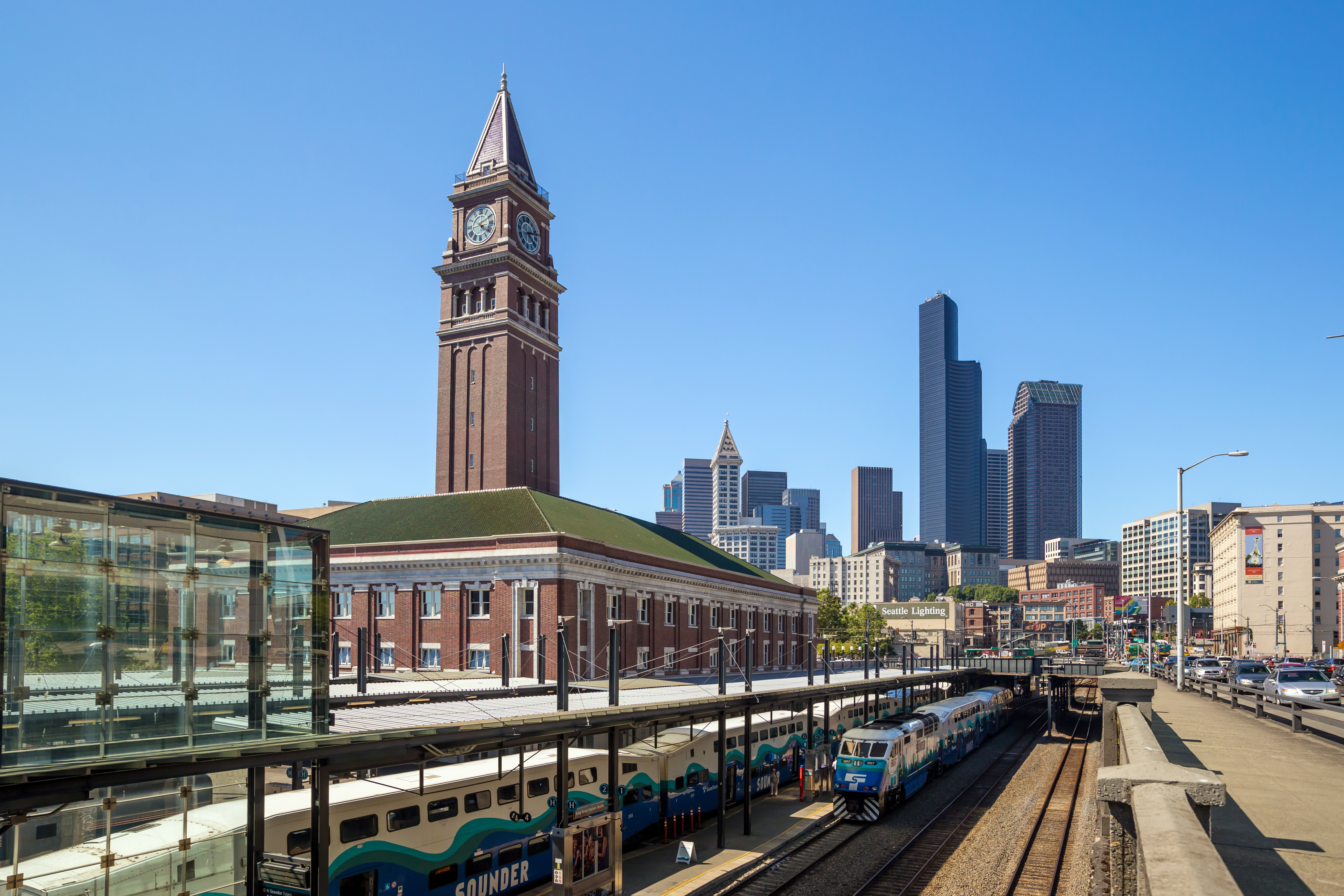 King Street Station was Seattle's long-awaited link to the rest of the nation