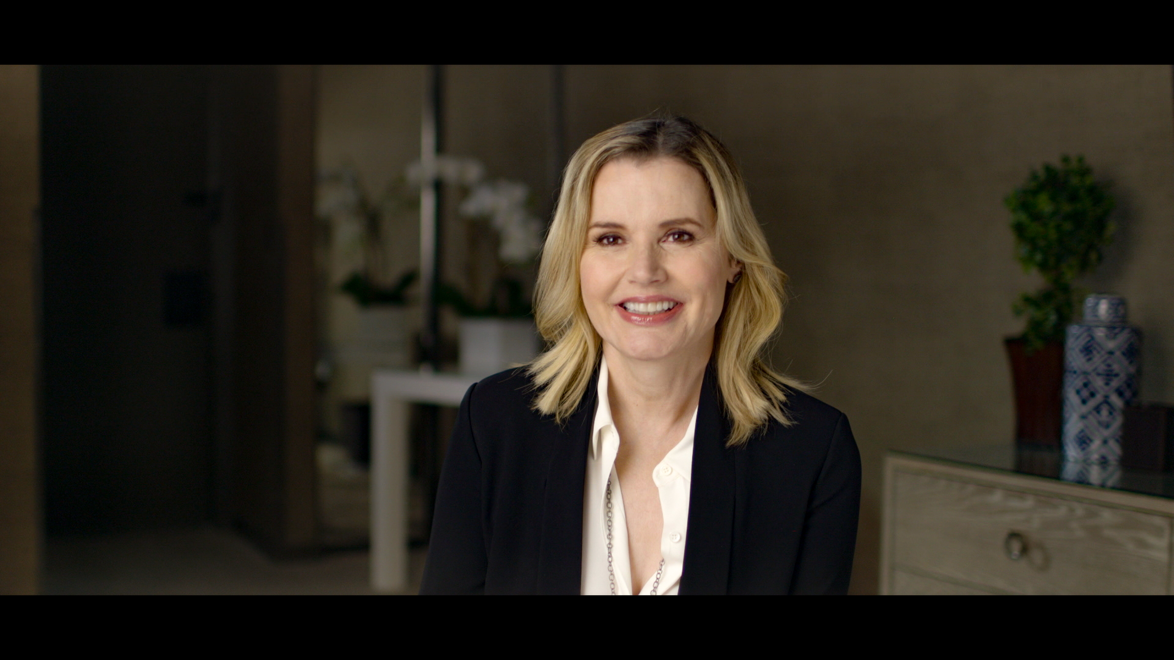 """Geena Davis, an executive producer of """"This Changes Everything,"""" appears in the documentary to discuss her experiences as an actress and the findings of her think tank, which is devoted to media gender issues."""