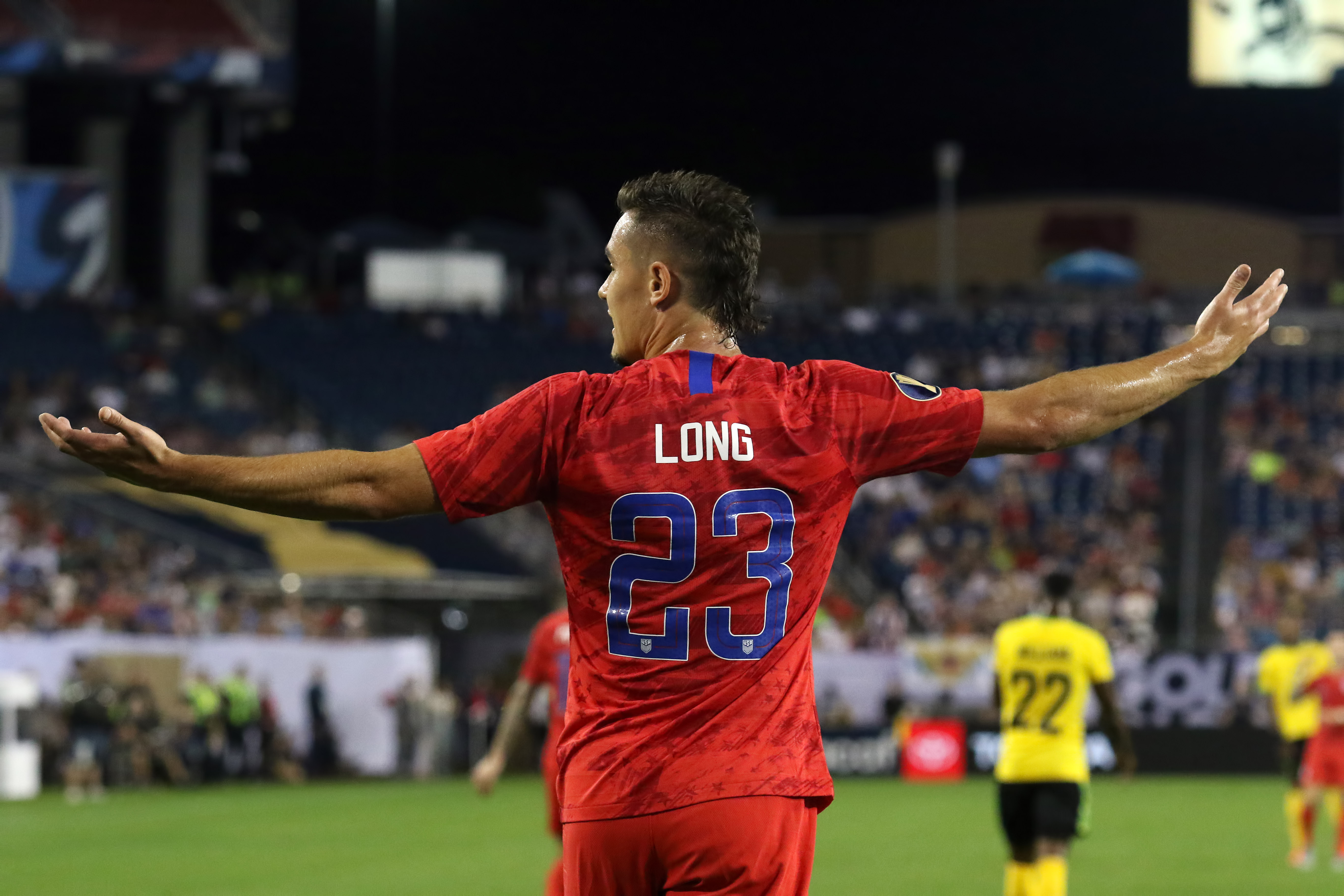 SOCCER: JUL 03 CONCACAF Gold Cup Semifinals - Jamaica v USA