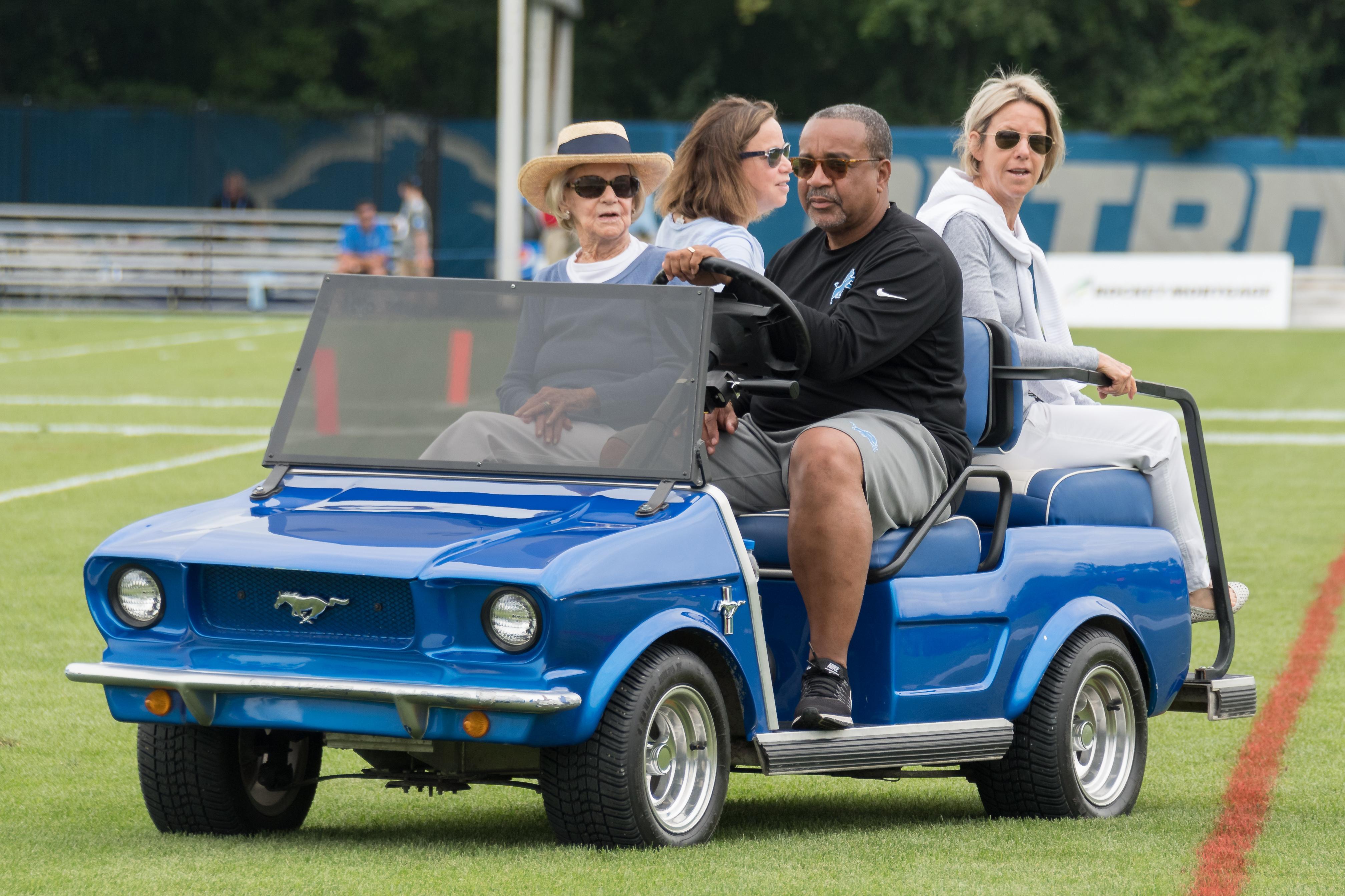 NFL: AUG 01 Lions Training Camp
