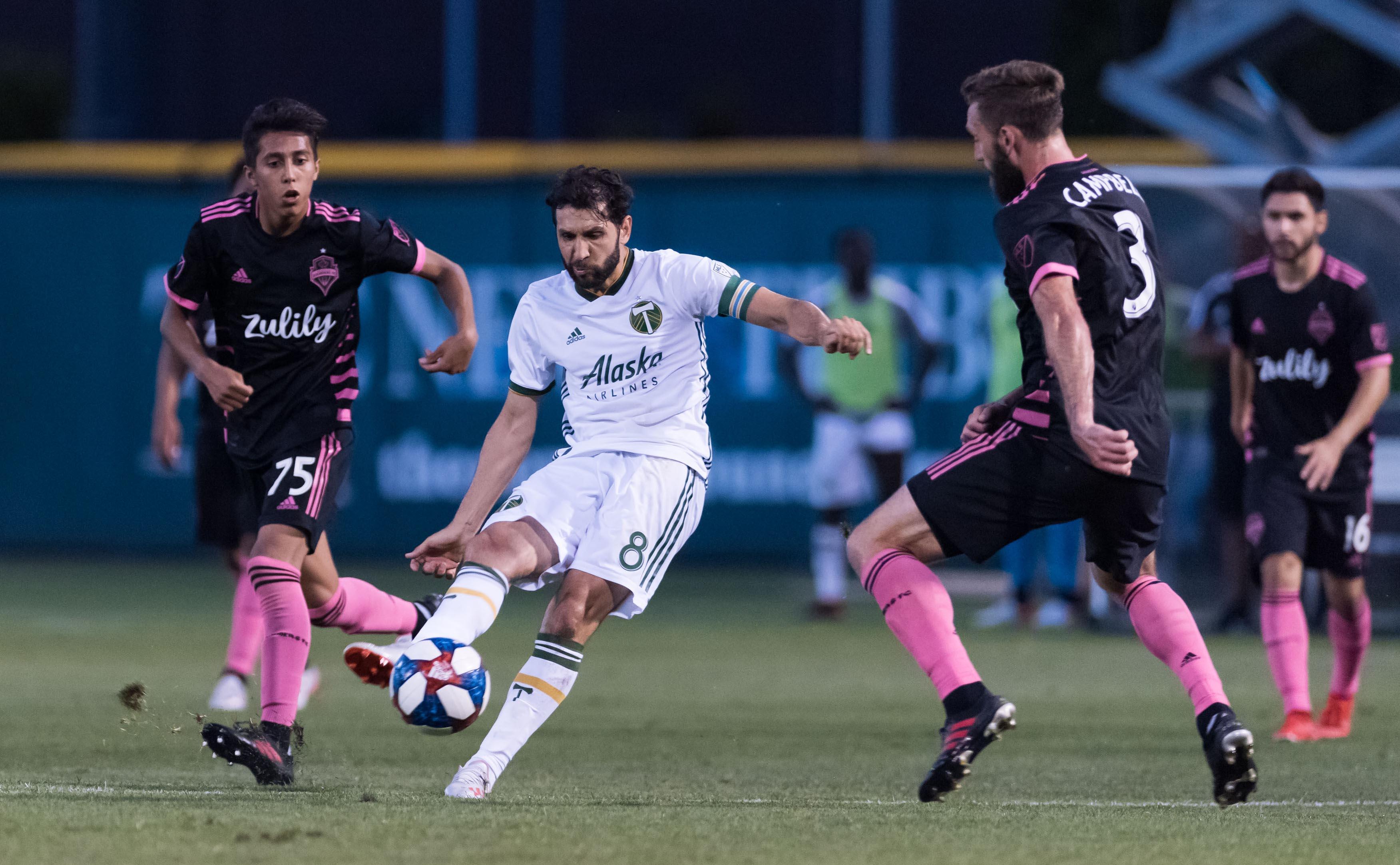 MLS: U.S. Open Cup-Seattle Sounders vs Portland Timbers