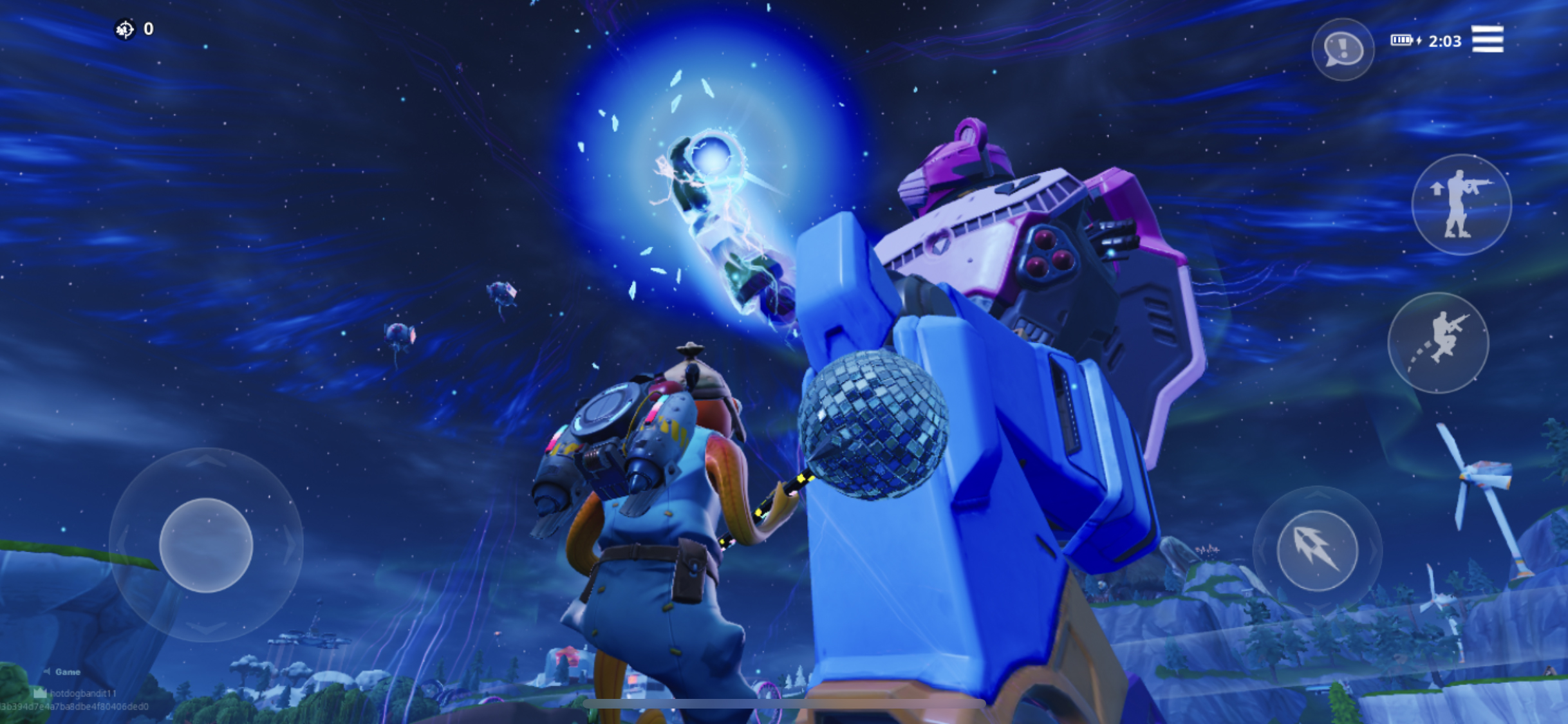 Fortnite's mecha-monster battle was its most impressive and
