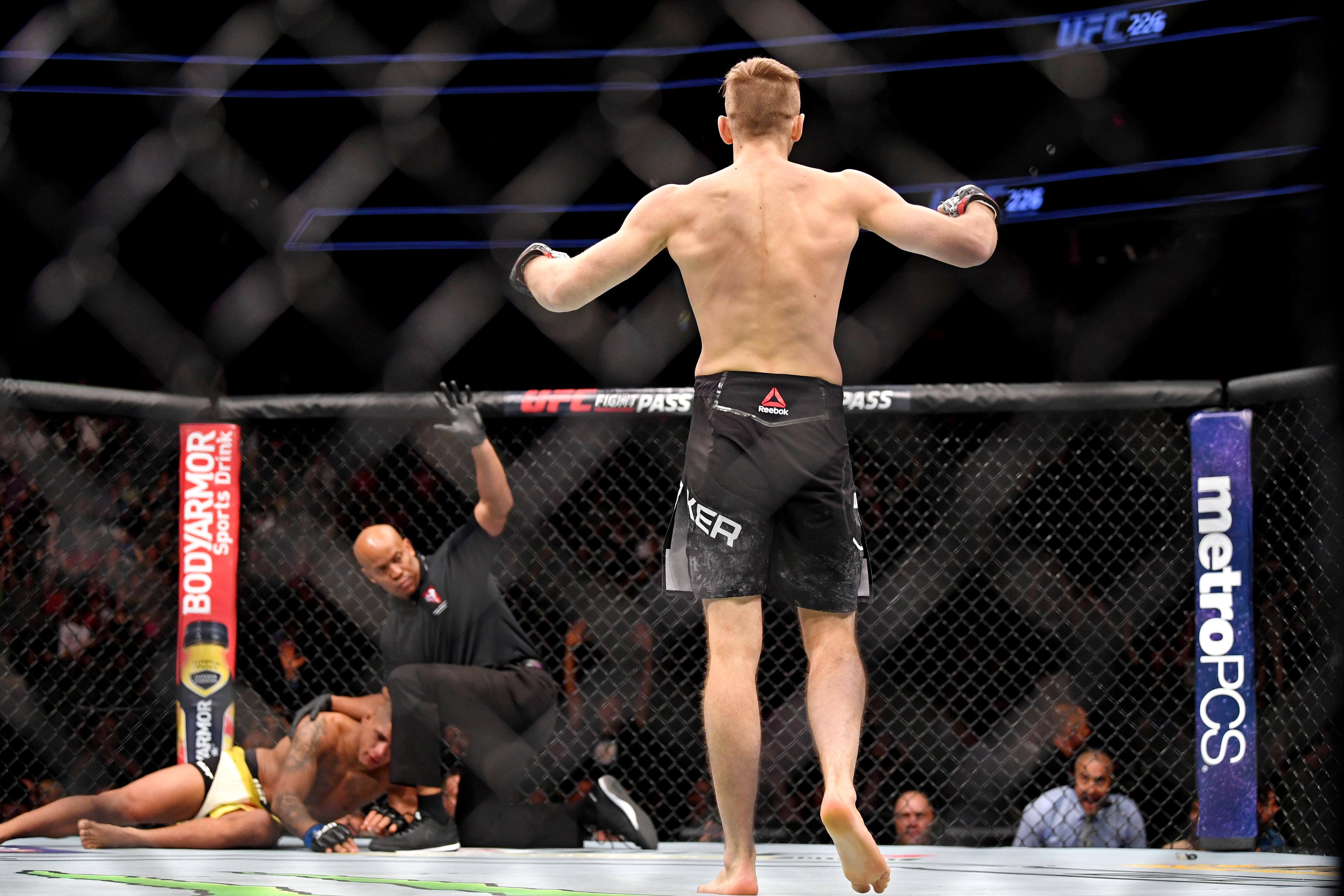 MMA: UFC 226-Hooker vs Burns