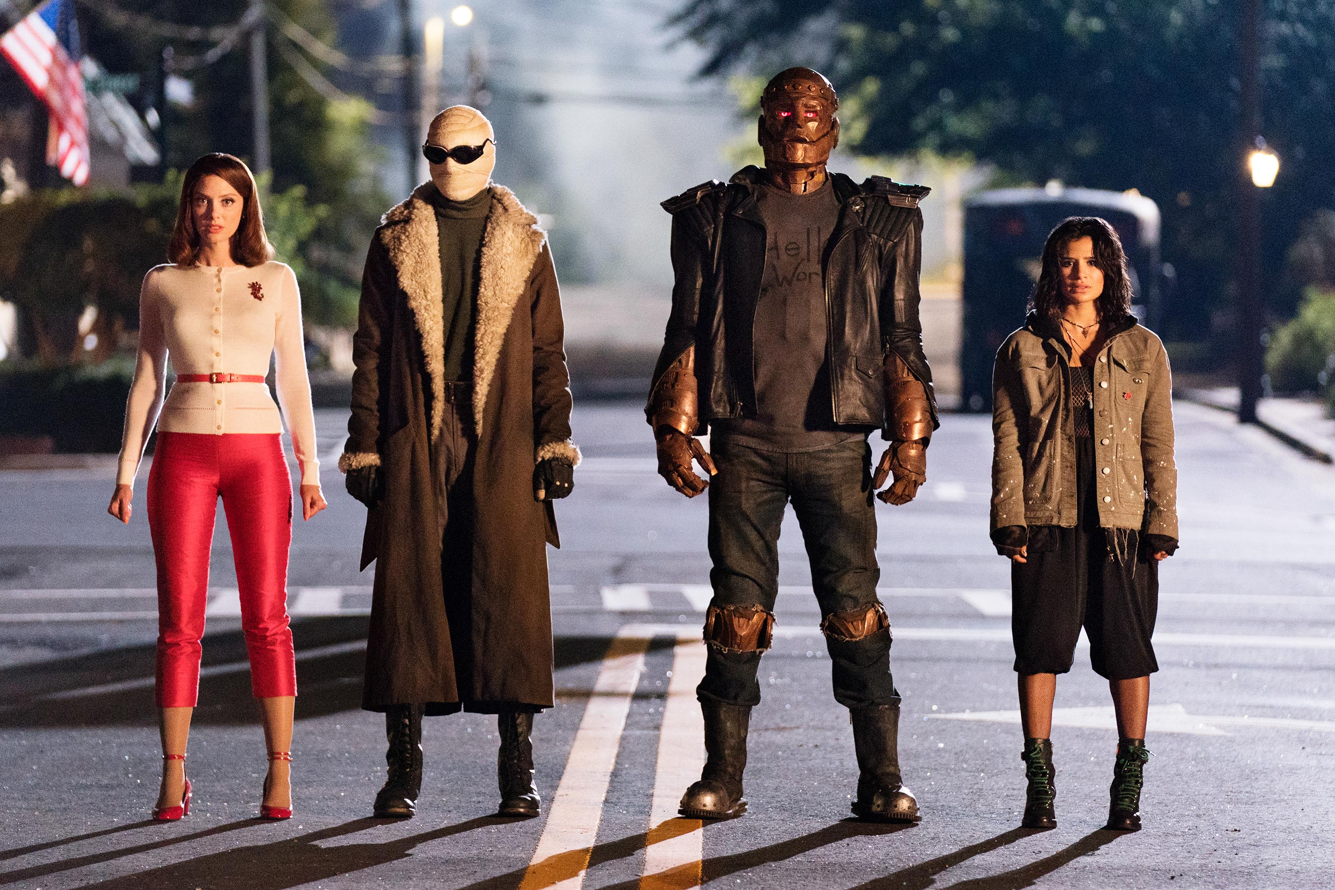 From Doom Patrol, the team of the same name.