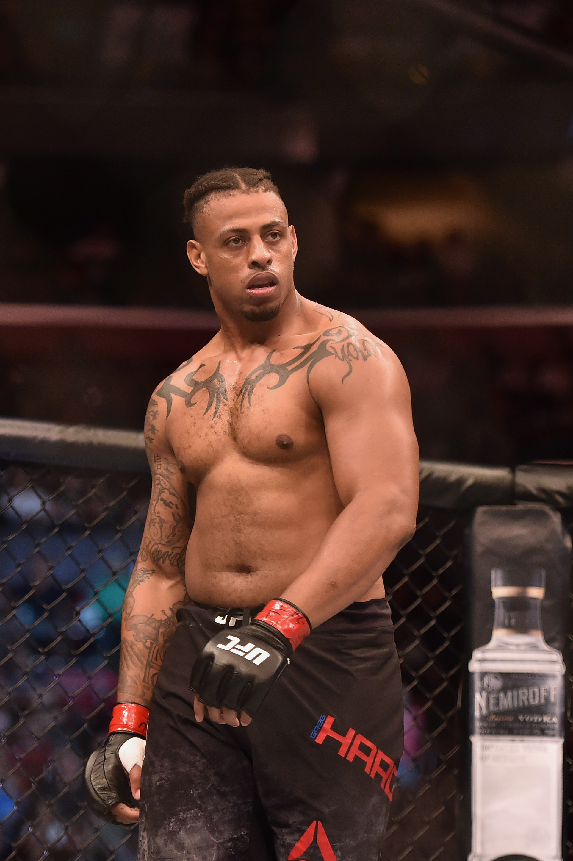 MMA: UFC Fight Night-Miami- Hardy vs Smoliakov