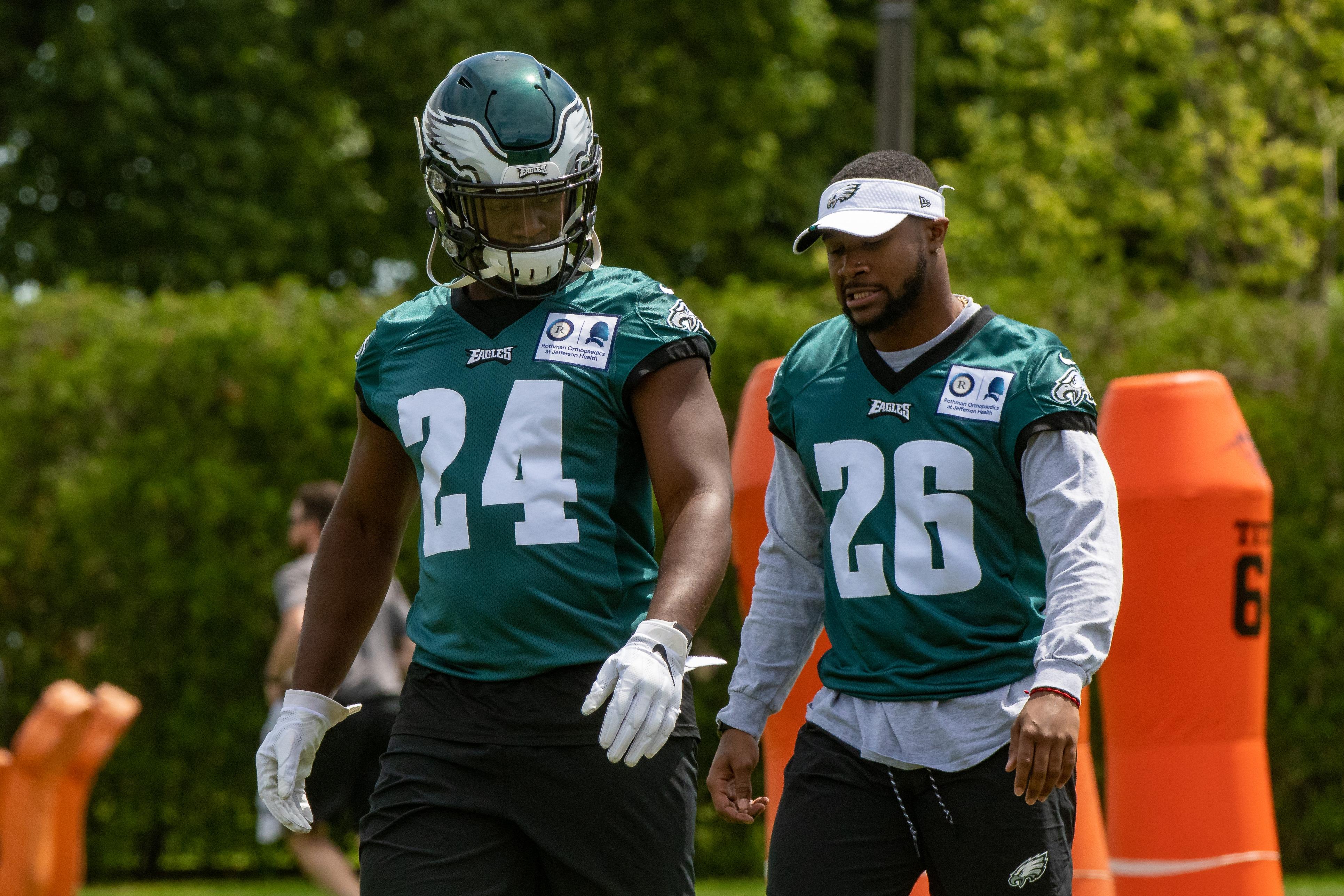 NFL: MAY 21 Philadelphia Eagles OTA