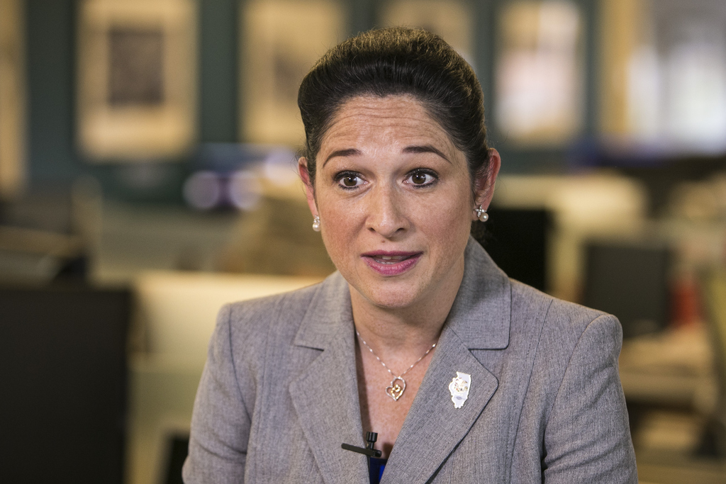 State Comptroller Susana Mendoza