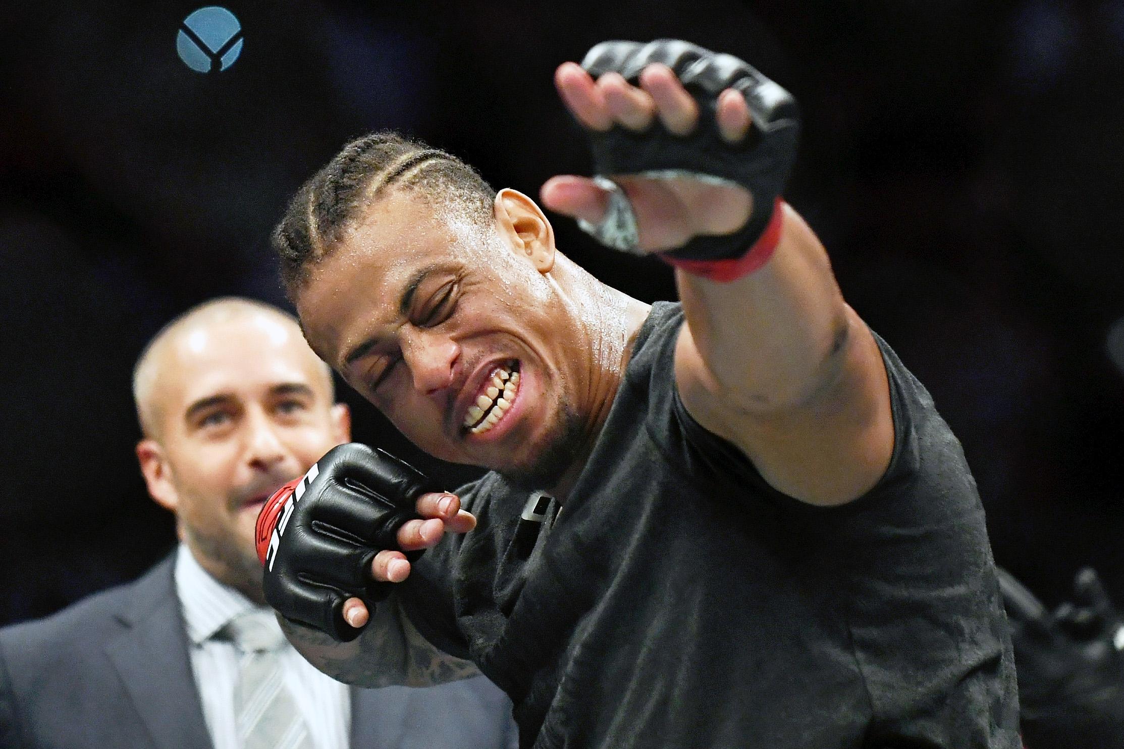 MMA: UFC Fight Night-San Antonio-Hardy vs Adams
