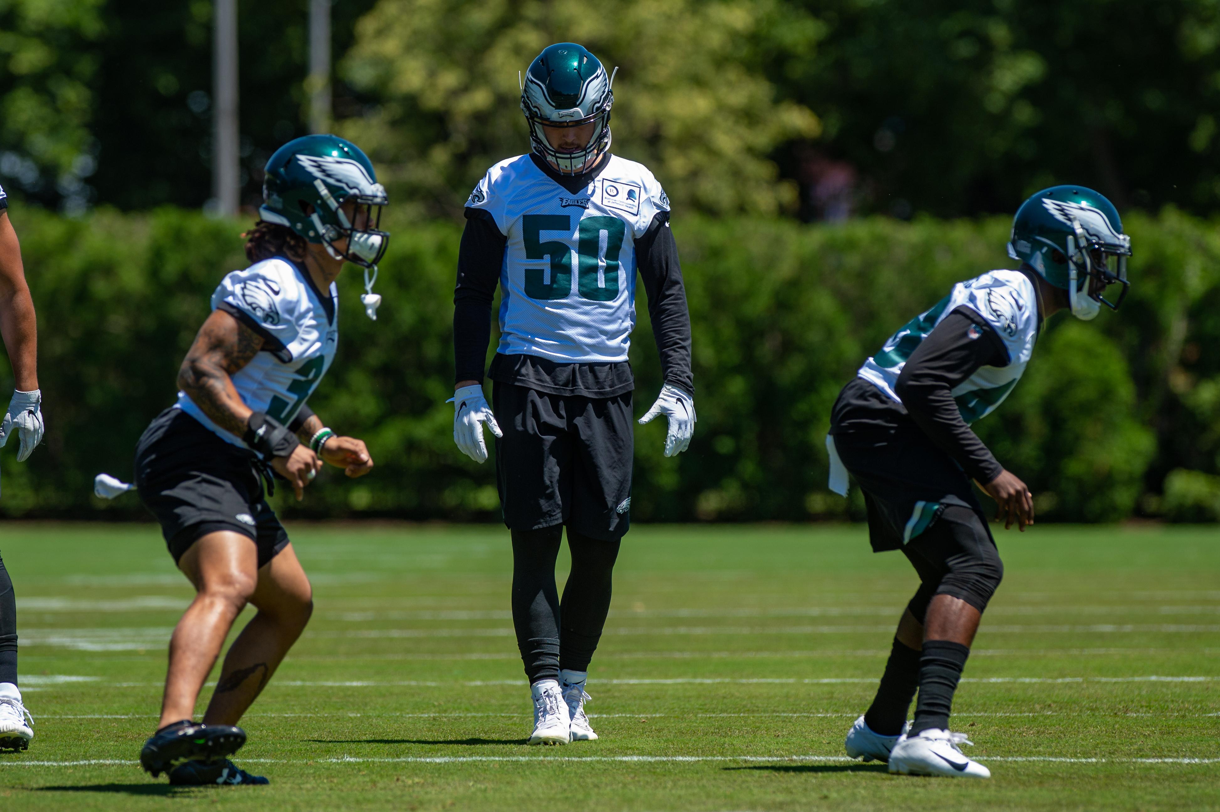 NFL: JUN 11 Philadelphia Eagles Minicamp