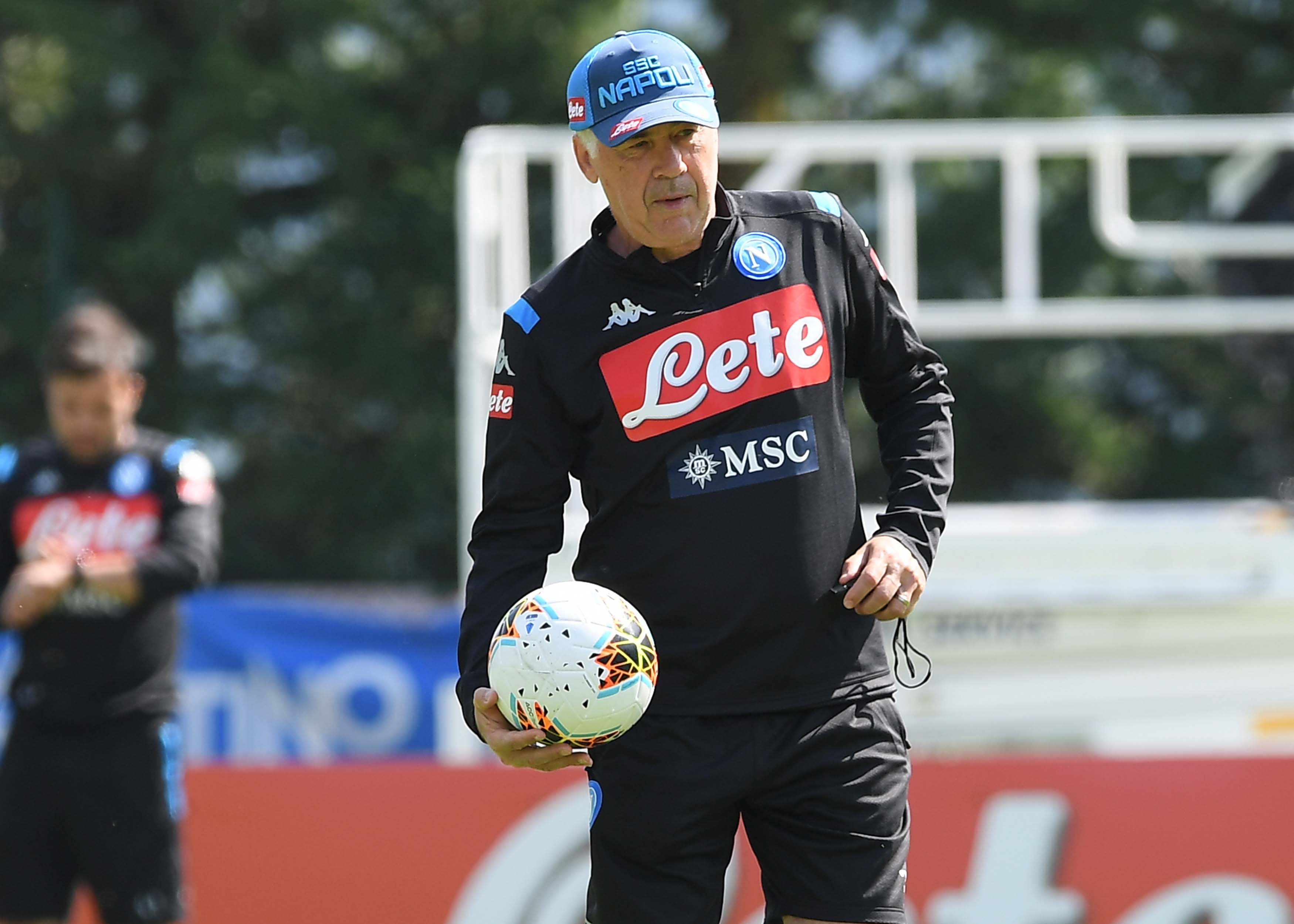 SSC Napoli Pre-Season Training Camp