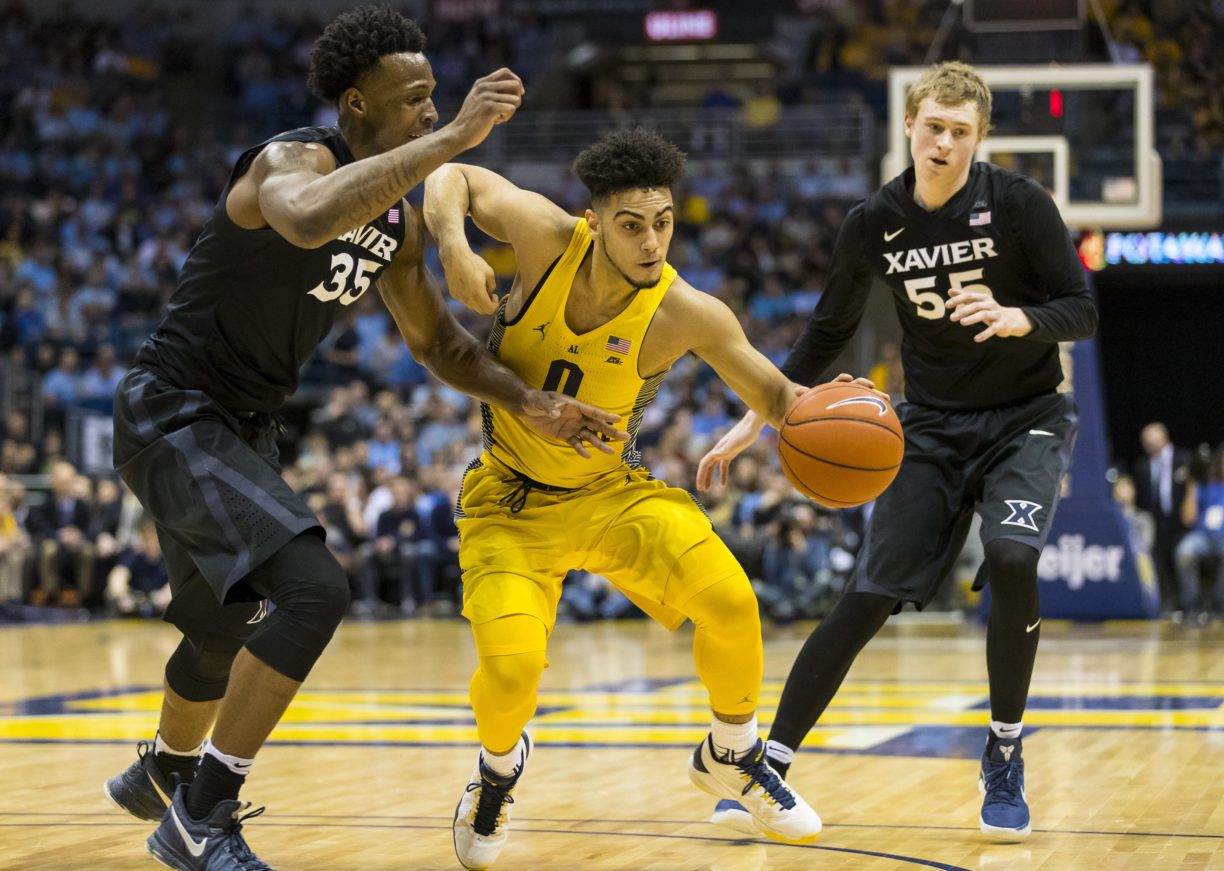 NCAA Basketball: Xavier at Marquette