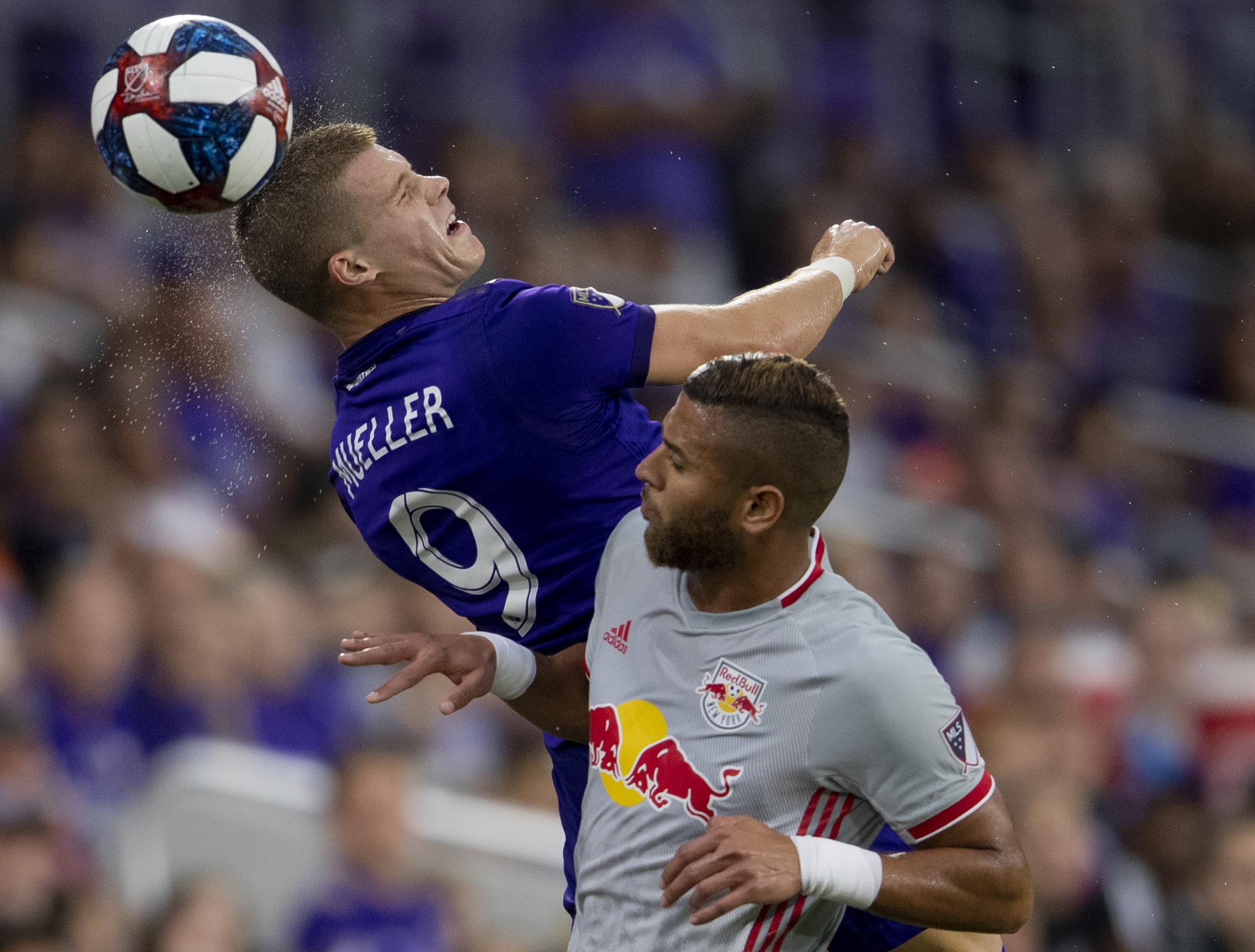 MLS: New York Red Bulls at Orlando City SC