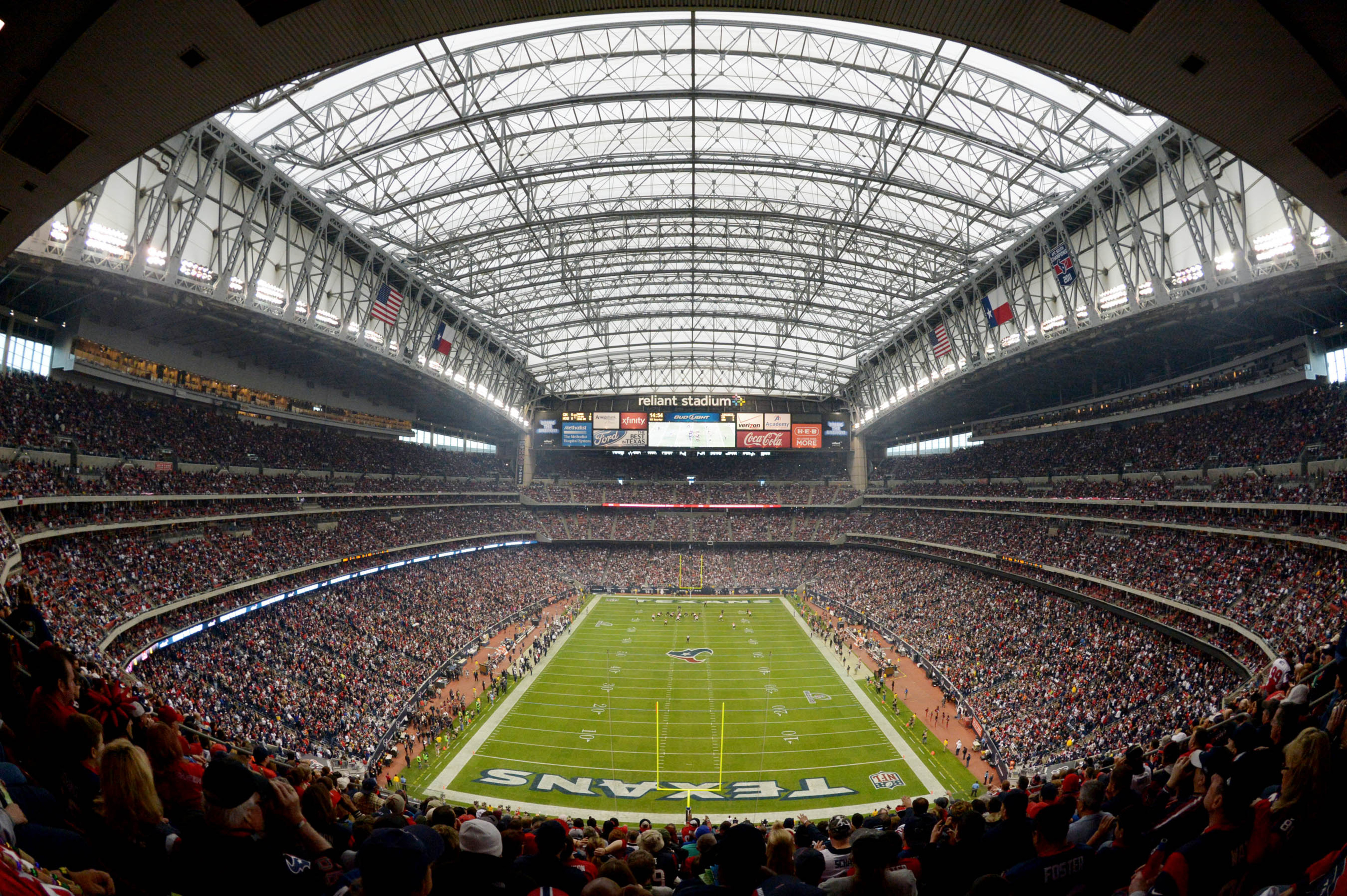 This will be the site of next week's AFC Championship Game if the Texans upset the Patriots tomorrow.