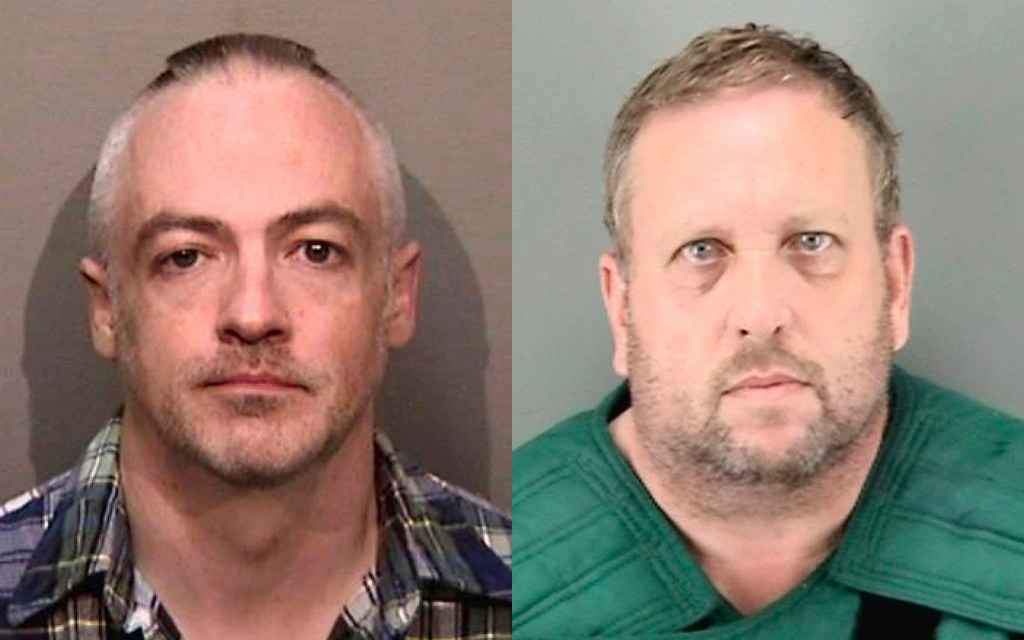 Murder suspects Wyndham Lathem, left, and Andrew Warren.