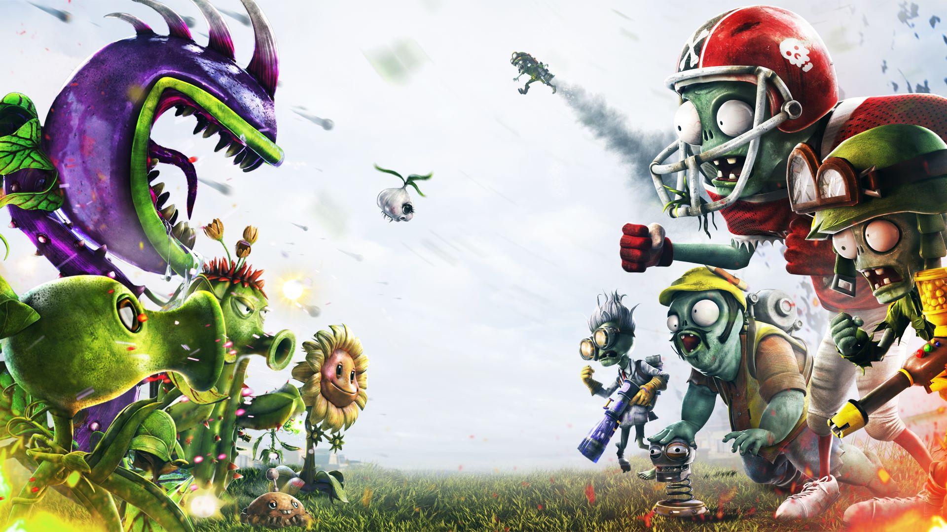 Cover art for the original Plants vs. Zombies: Garden Warfare