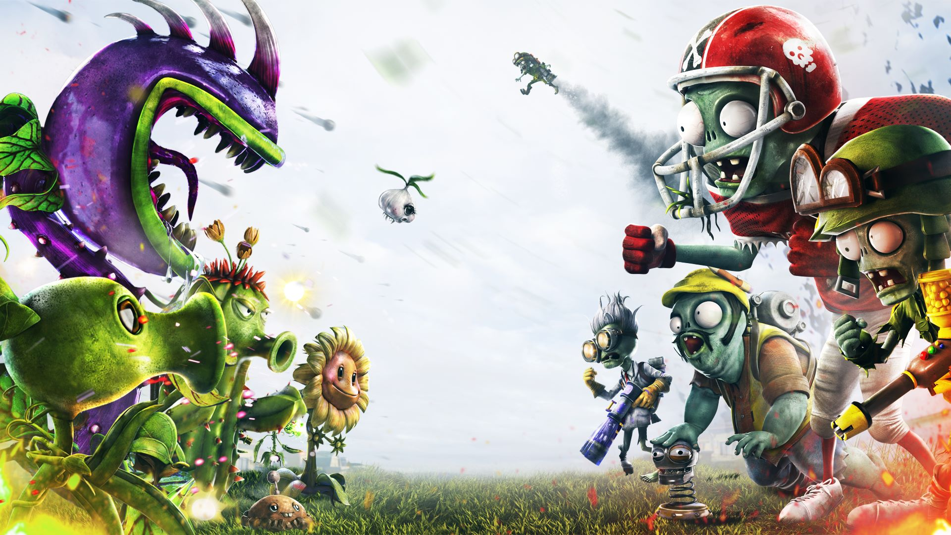 EA sending out alpha invites for new Plants vs. Zombies shooter
